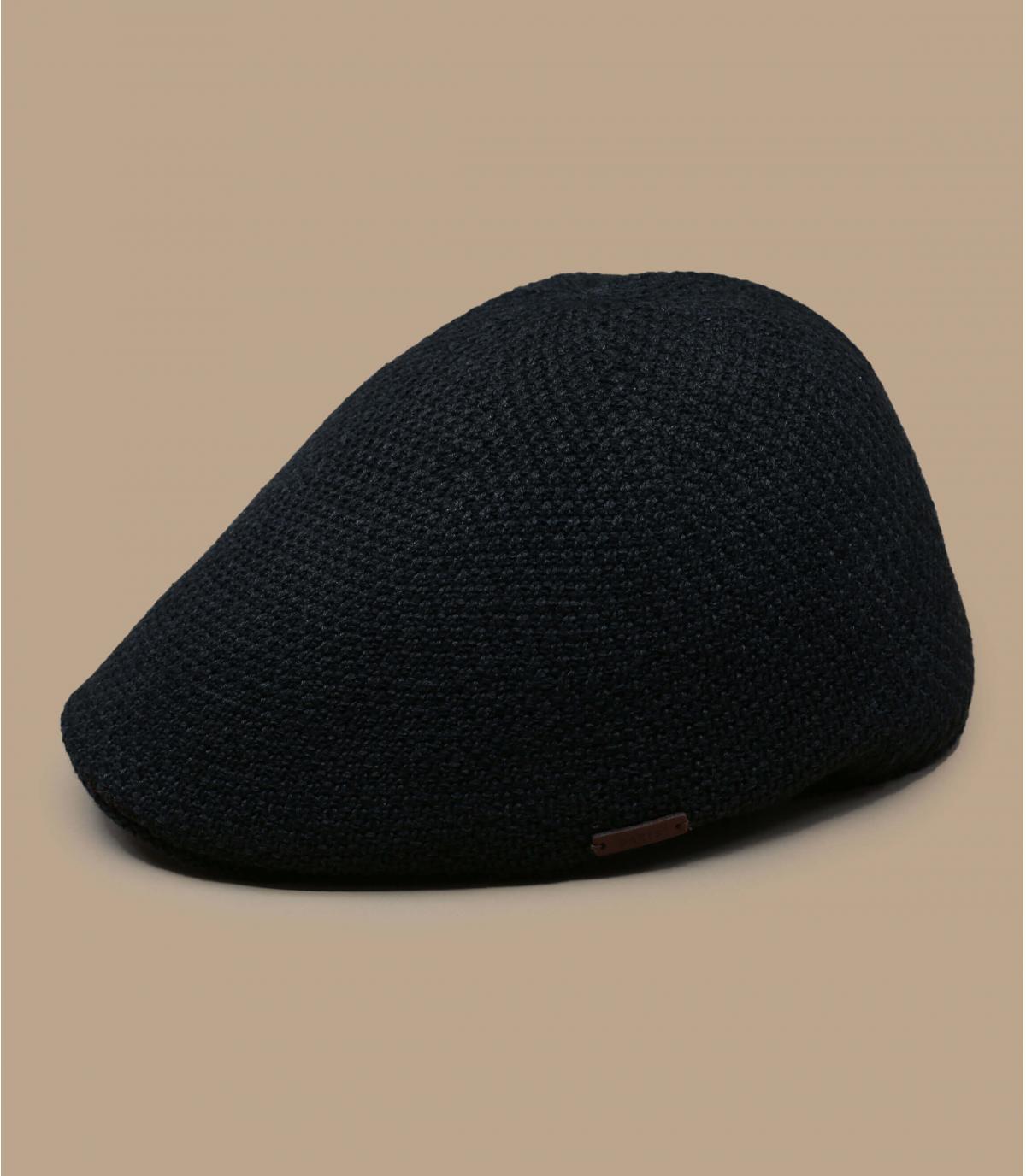 Flatcap grau meliert