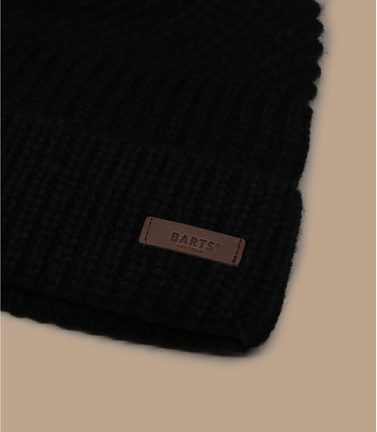 Cuff Mütze schwarz Barts