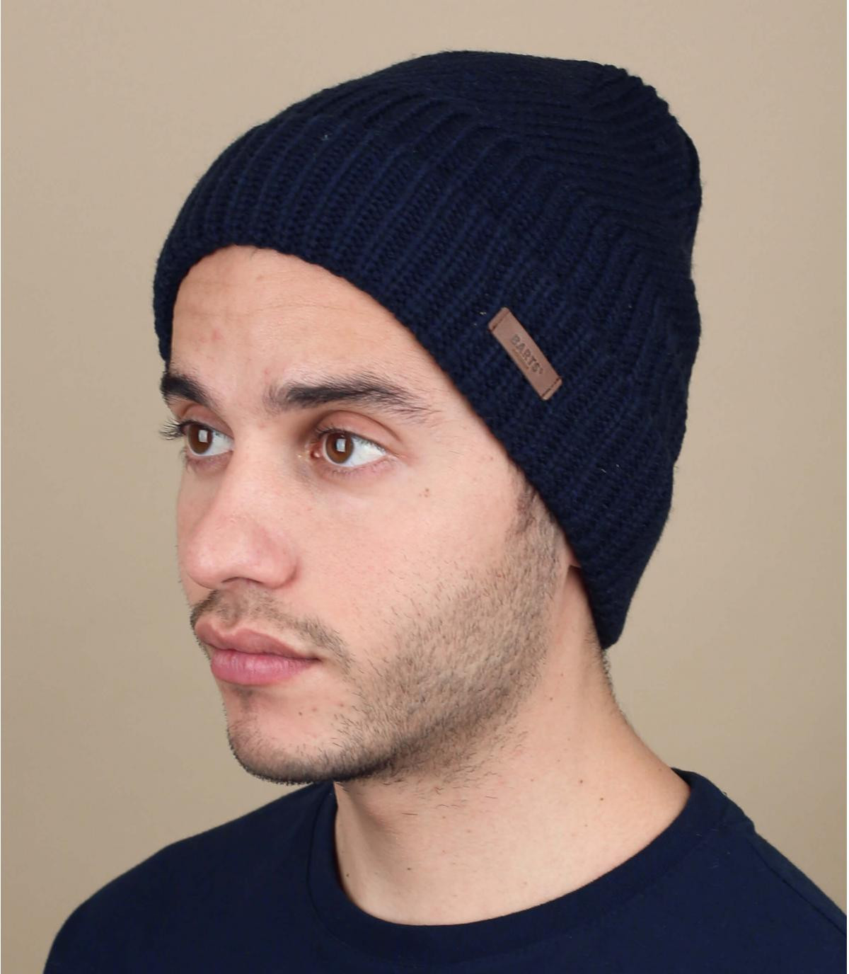 Cuff Mütze blau Barts