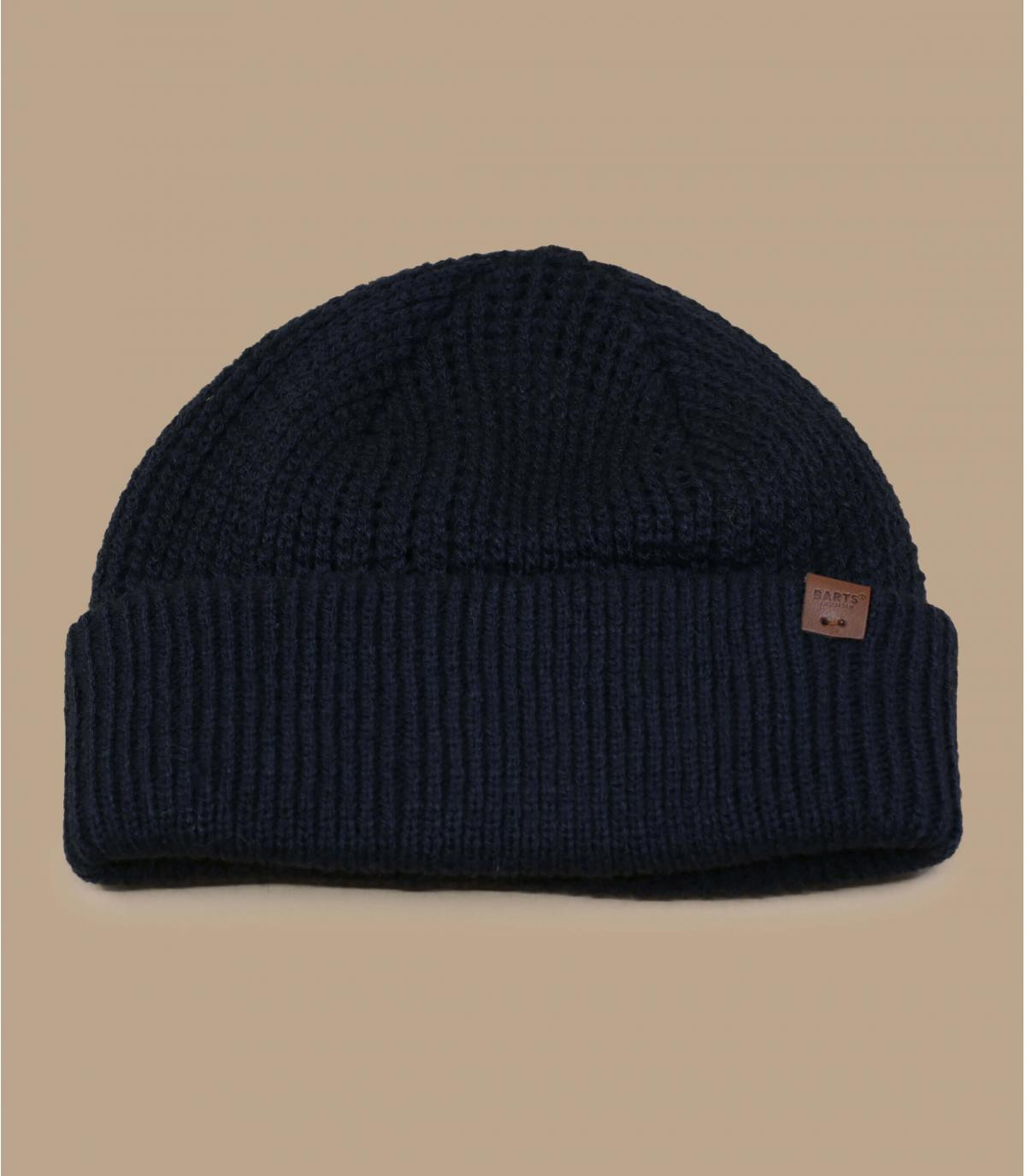 Docker Mütze marineblau