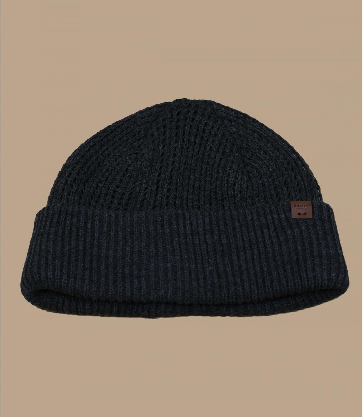 Docker Mütze grau meliert