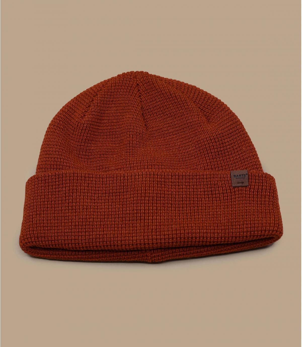 lange Mütze orange