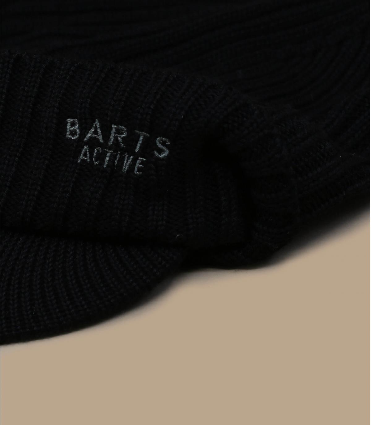 Schirmmütze schwarz Barts