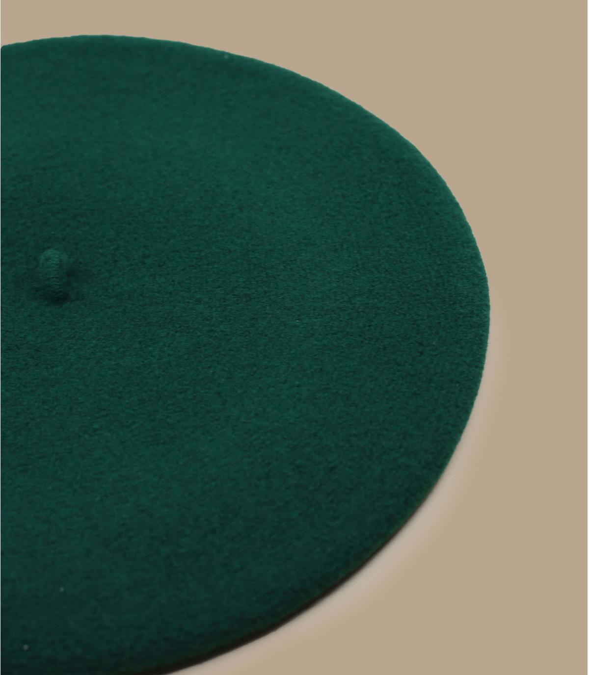 Baskenmütze grün Laulhère