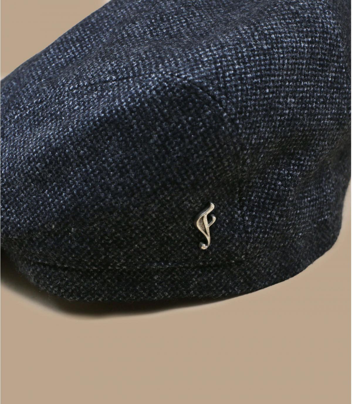 Schiebermütze grau Wolle bio