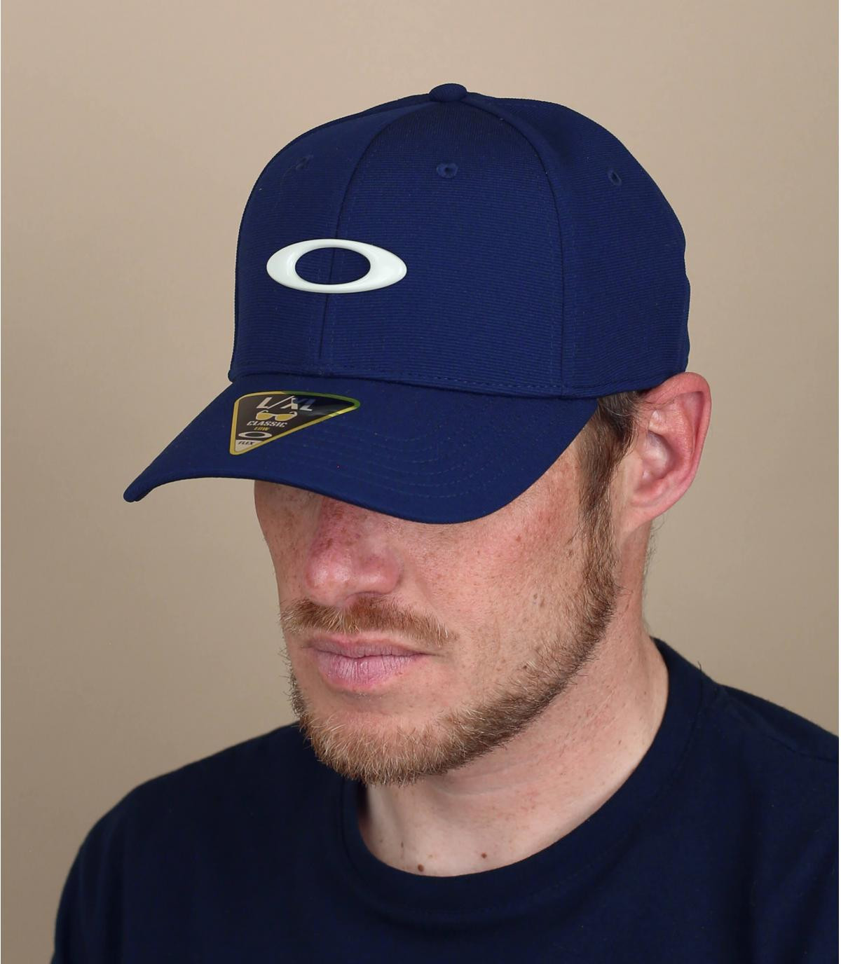 Cap Oakley marineblau