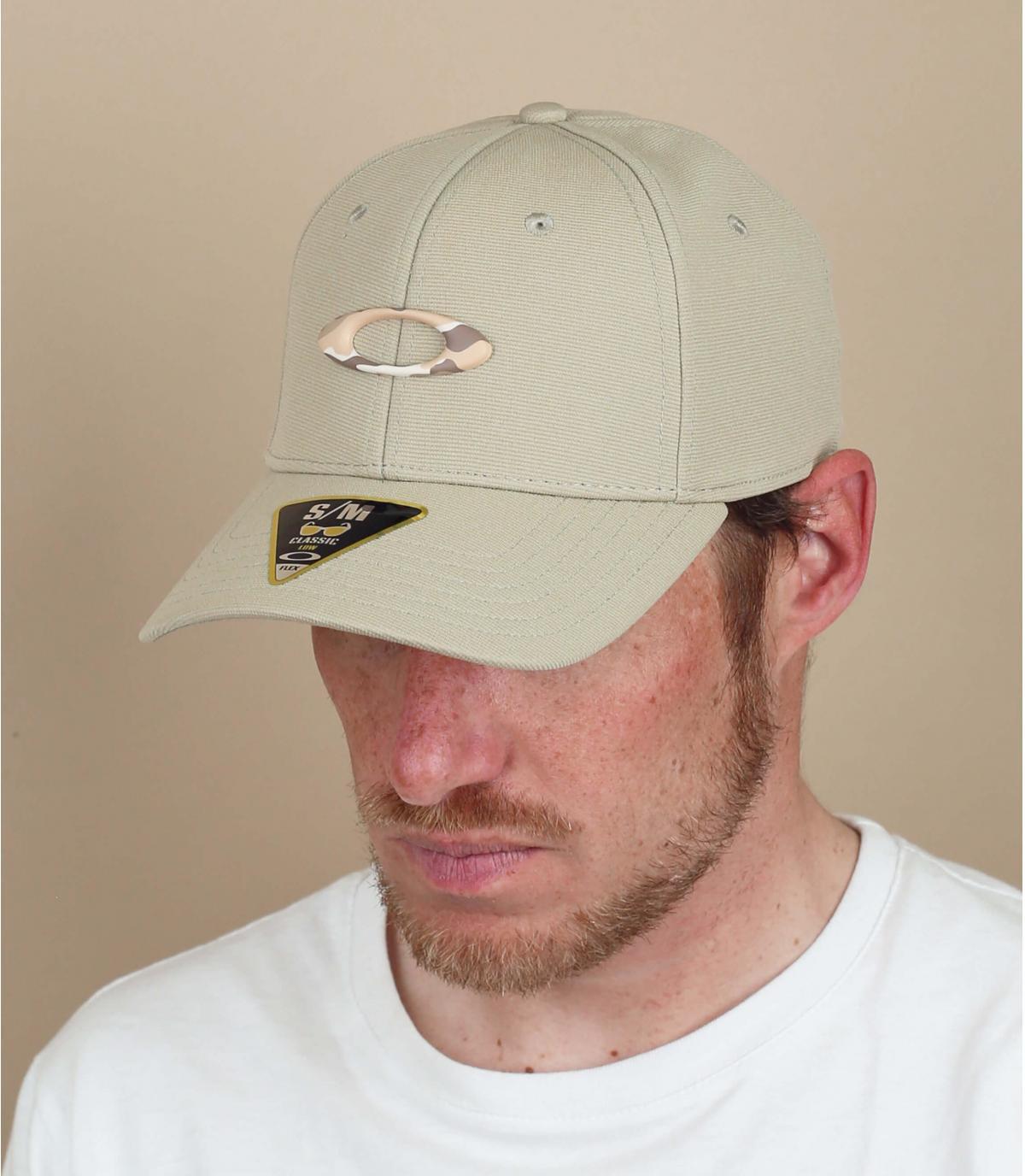 Cap Oakley beige Logo
