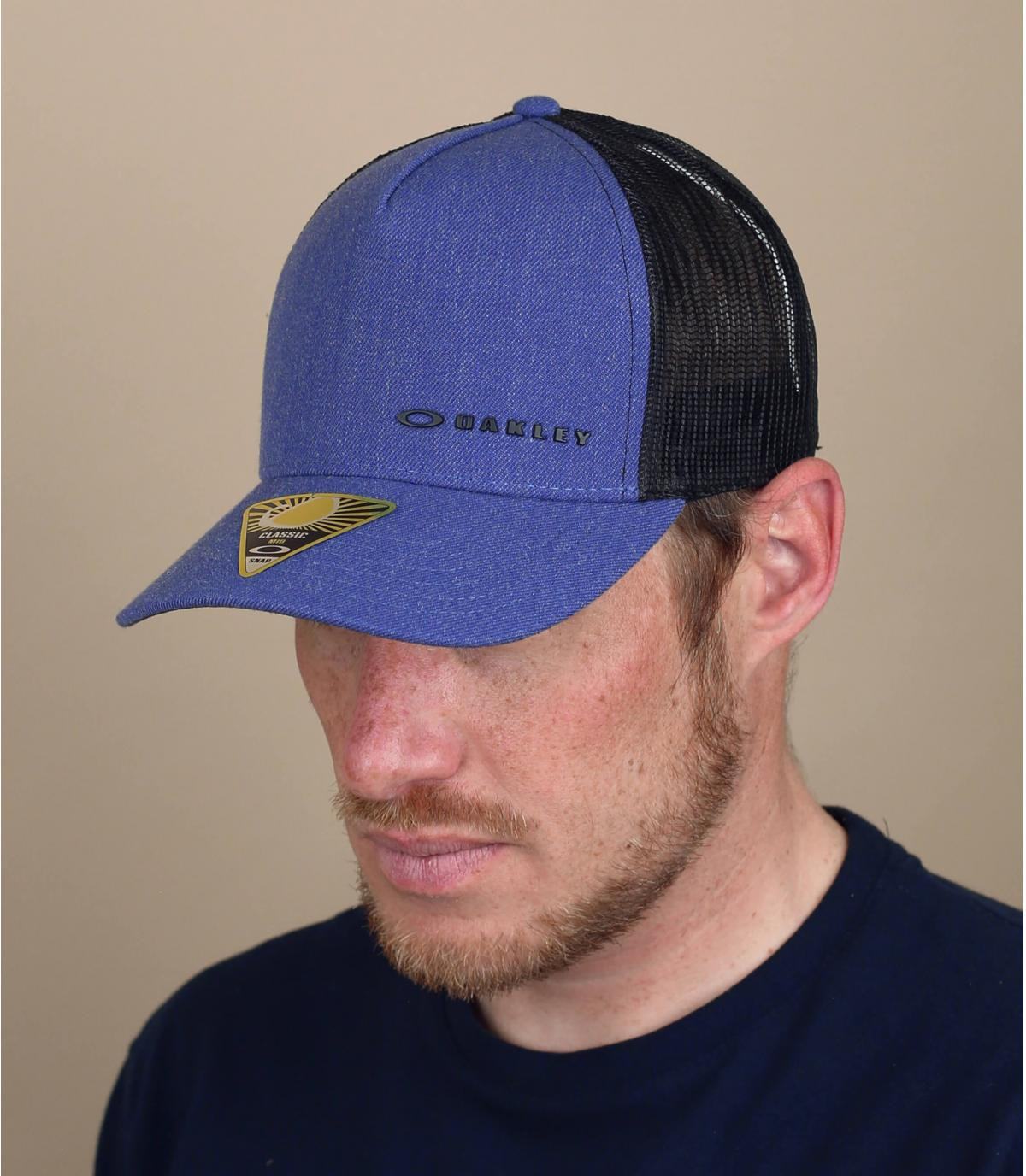 Trucker Cap Oakley blau