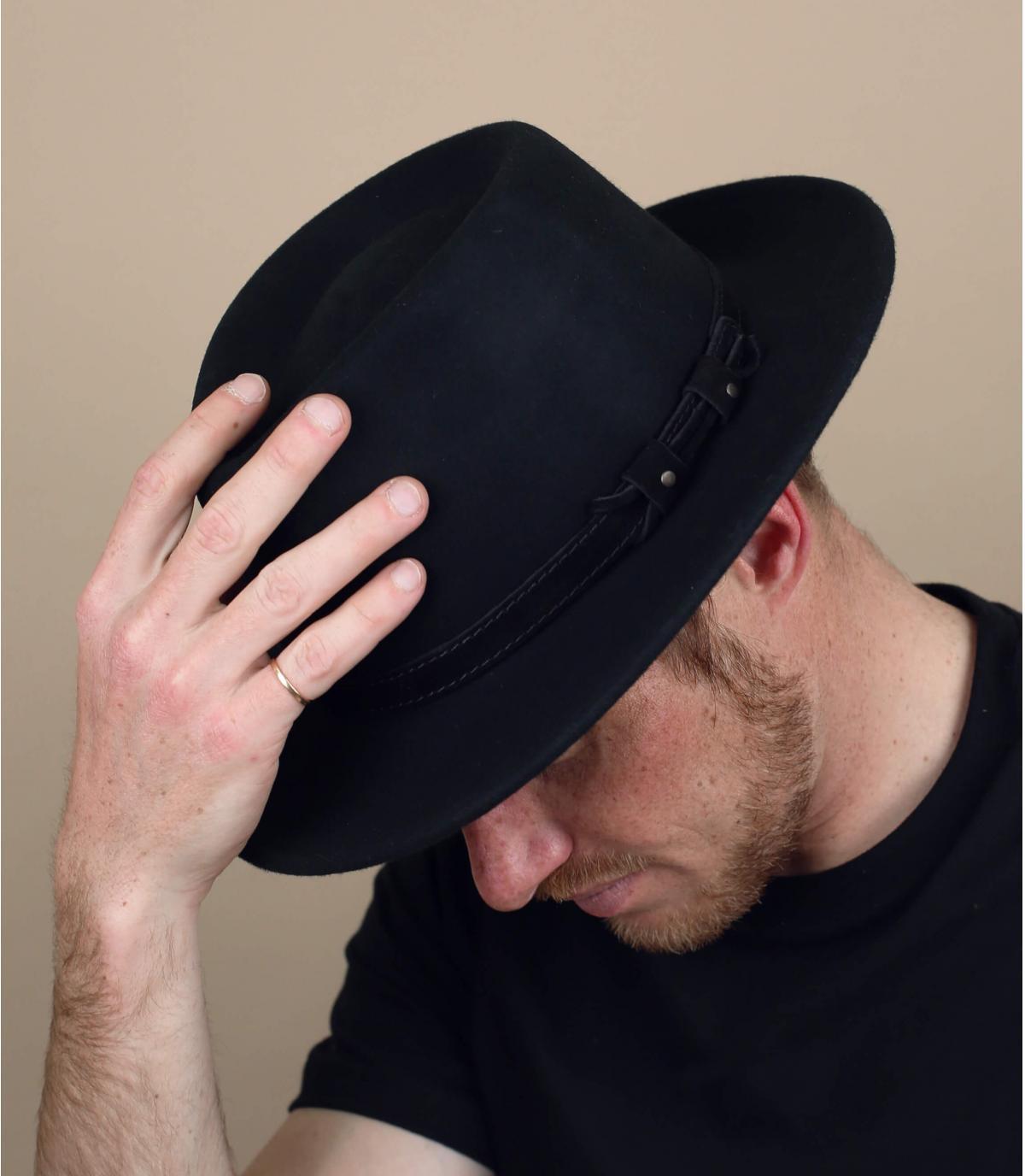 Filzhut schwarz