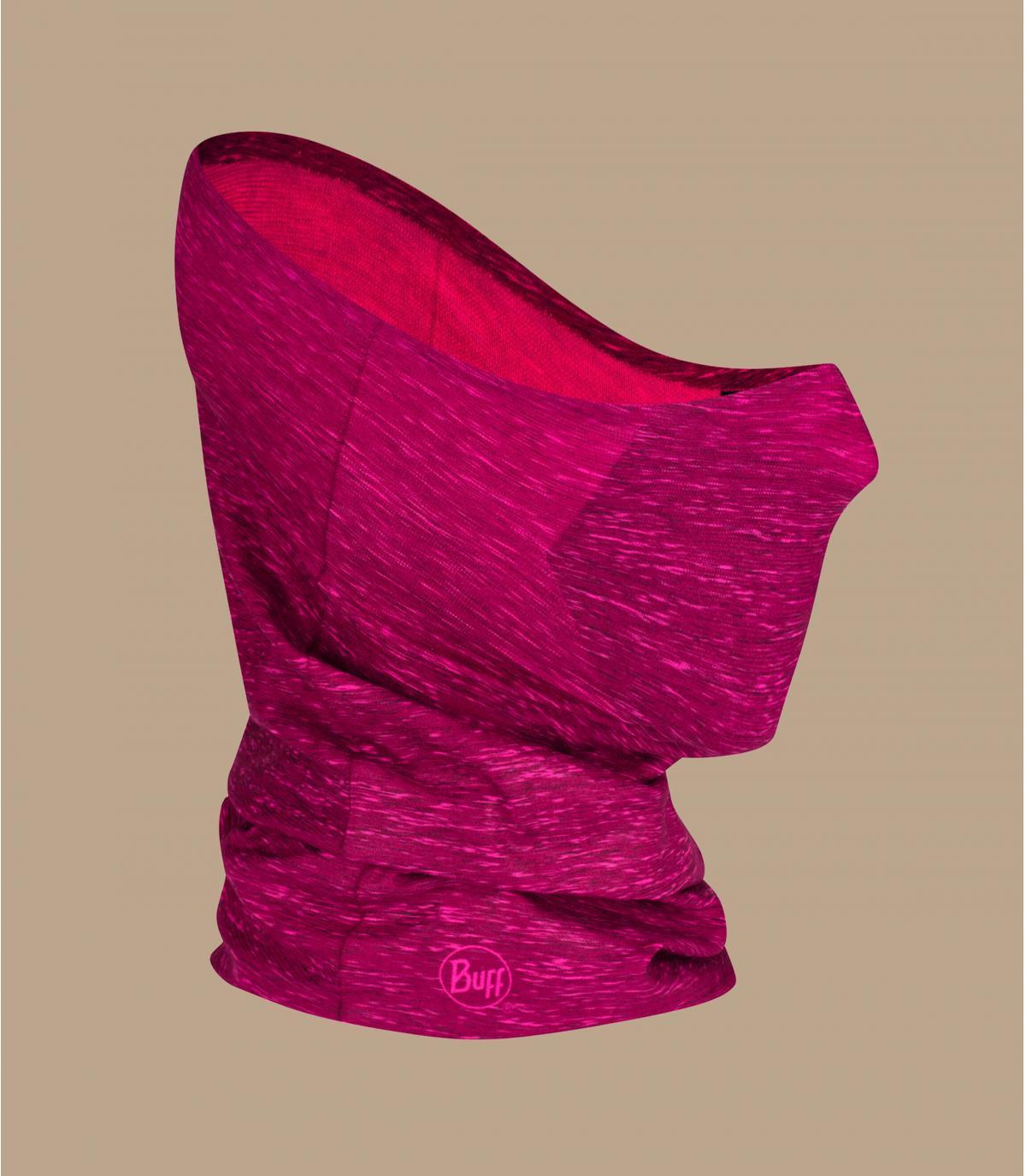schlauchschal maske covid rosa