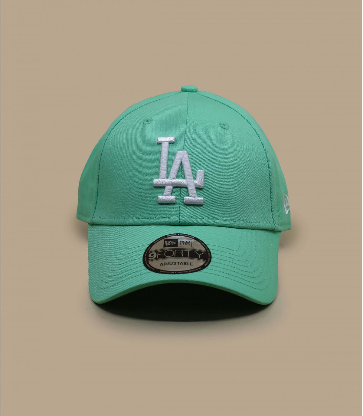 Cap LA blau grün
