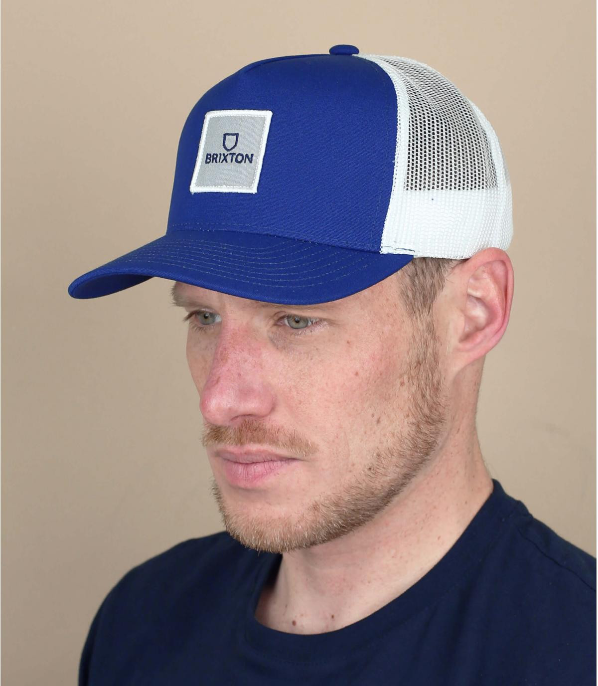 Trucker Cap Brixton marineblau