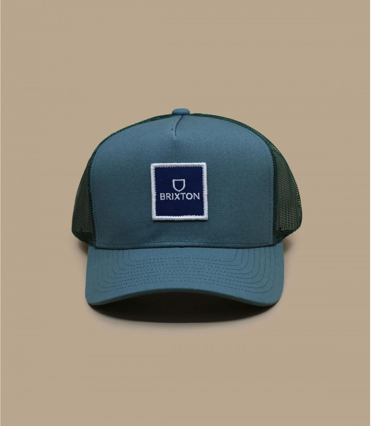 Trucker Cap Brixton blau grau