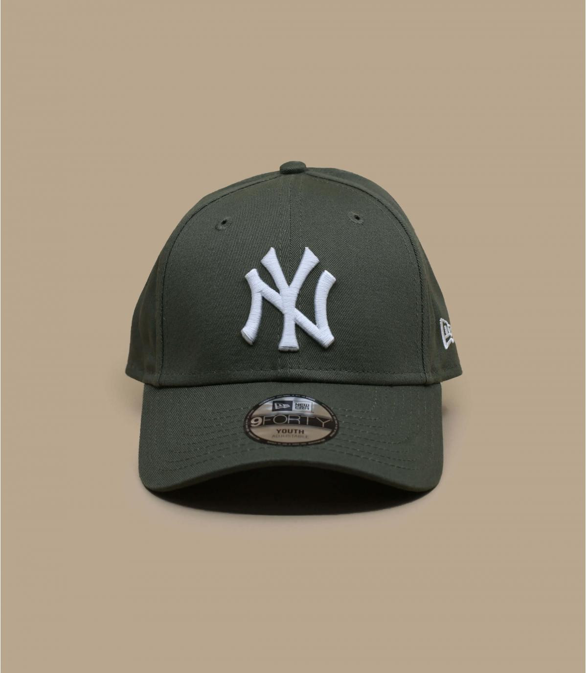Kinder Cap grün NY