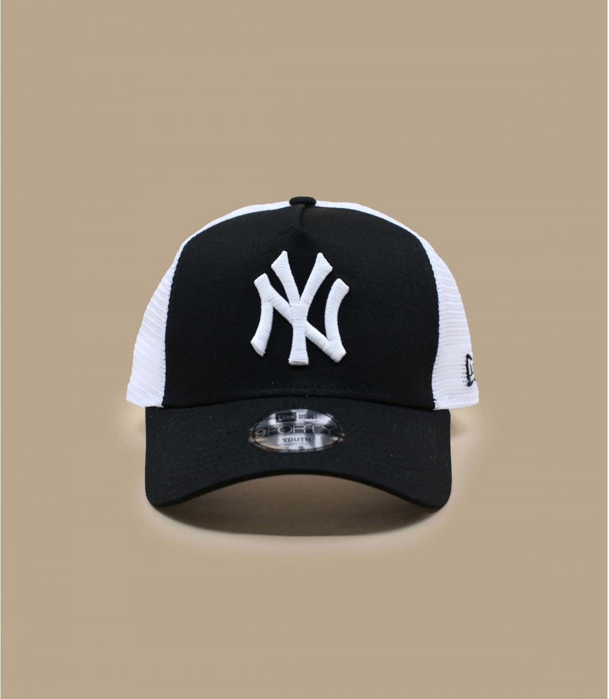 Details Trucker Cap Kids NY League Ess 940 black white - Abbildung 2