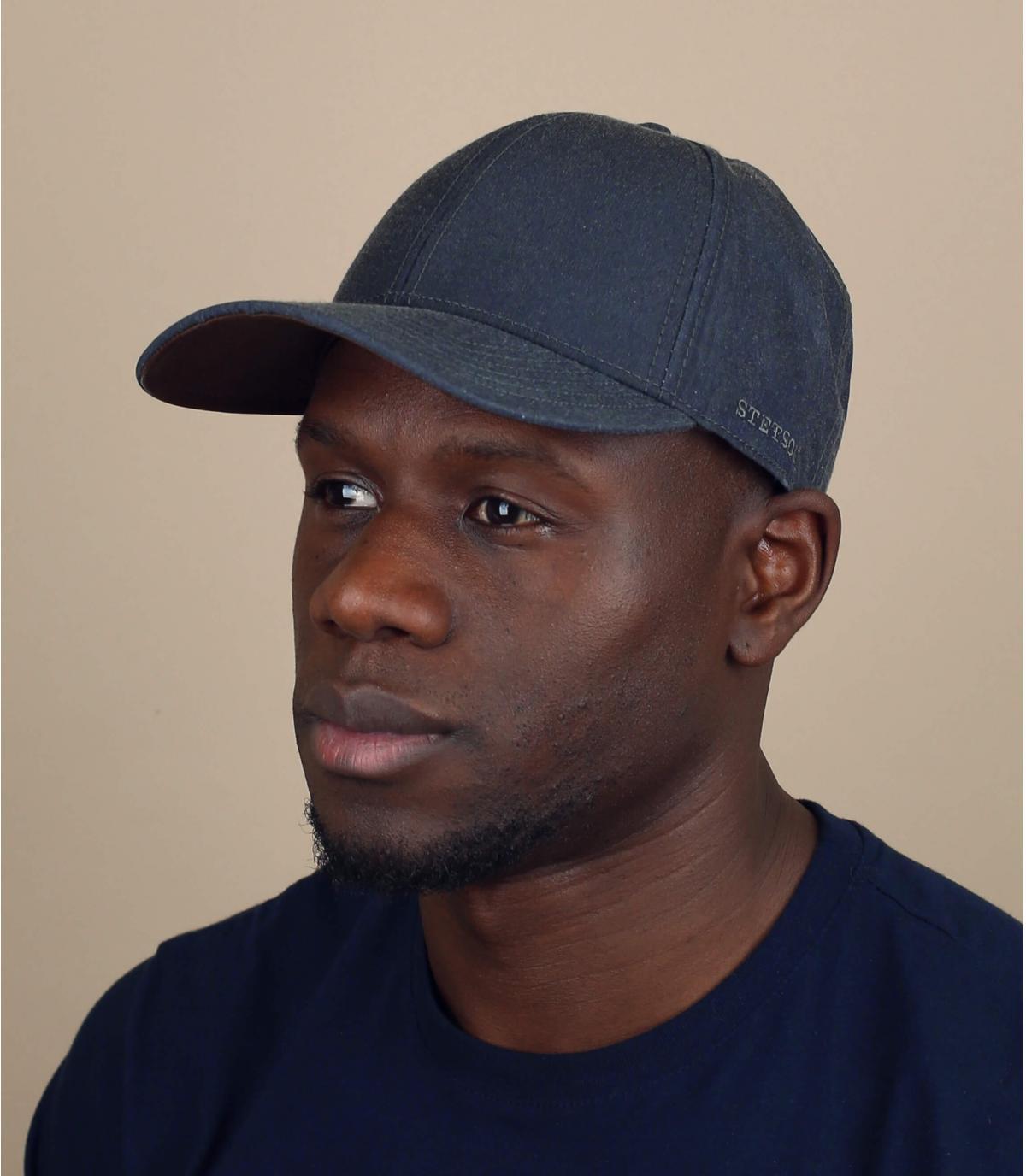 Cap wasserabweisend grau