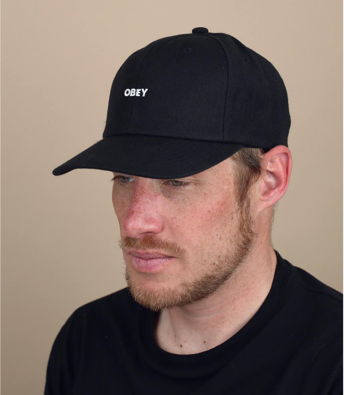Cap Obey schwarz