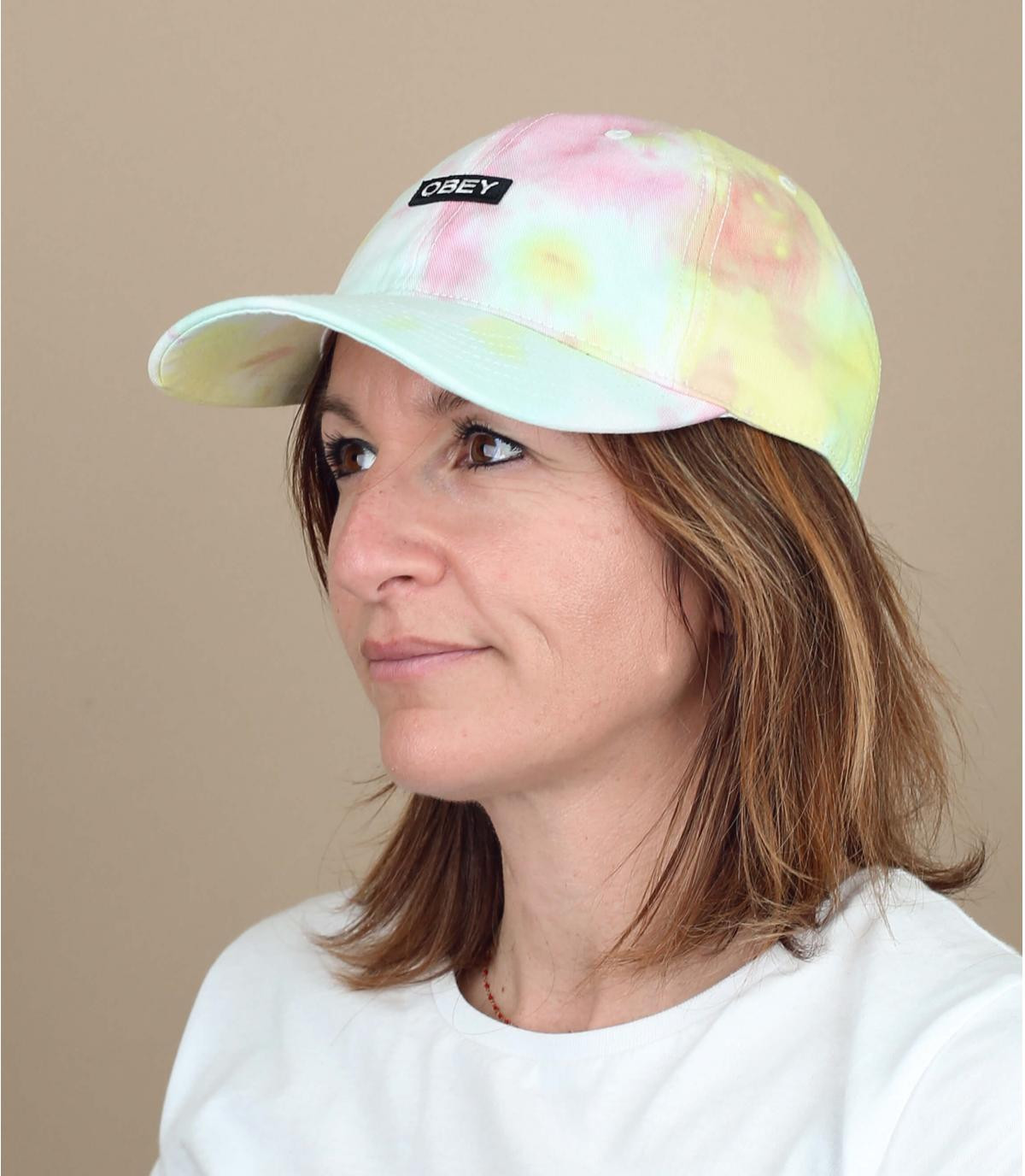Cap Tie and Dye Obey