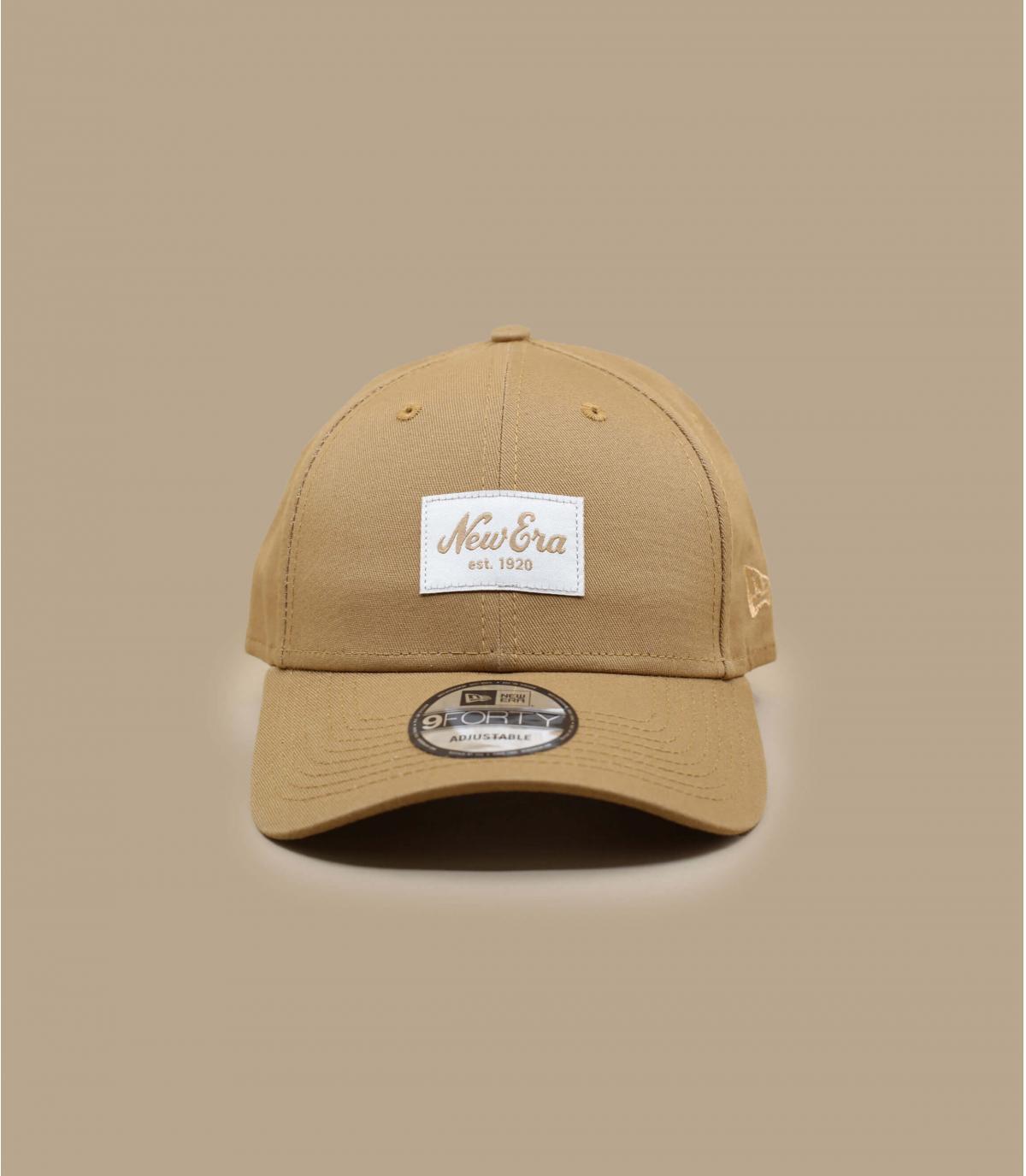 New Era Cap beige