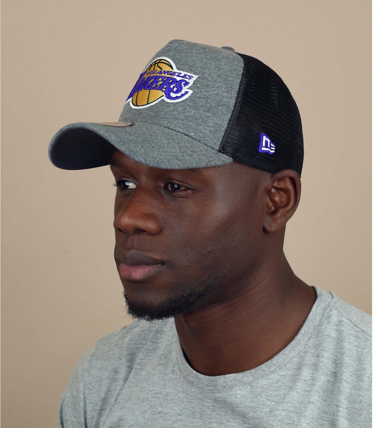 Trucker Cap Lakers Jersey