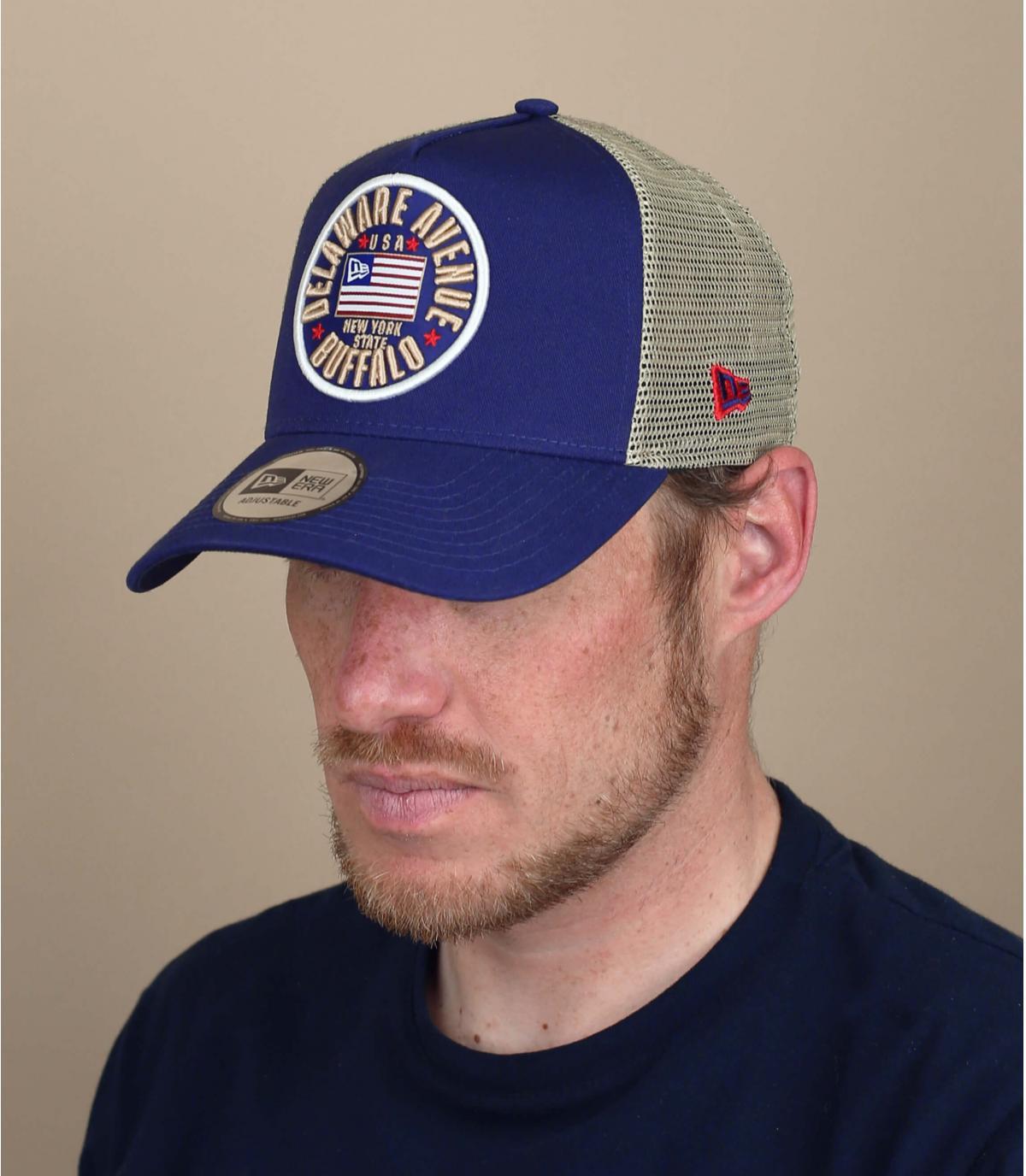 Trucker Cap US Flagge
