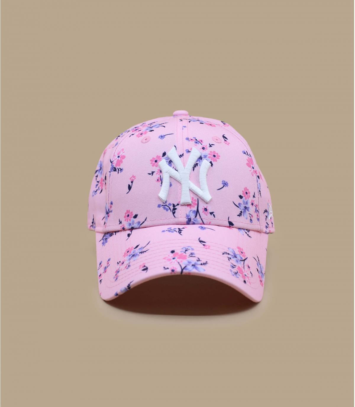 Details Cap Wmn Floral NY 940 pink - Abbildung 2