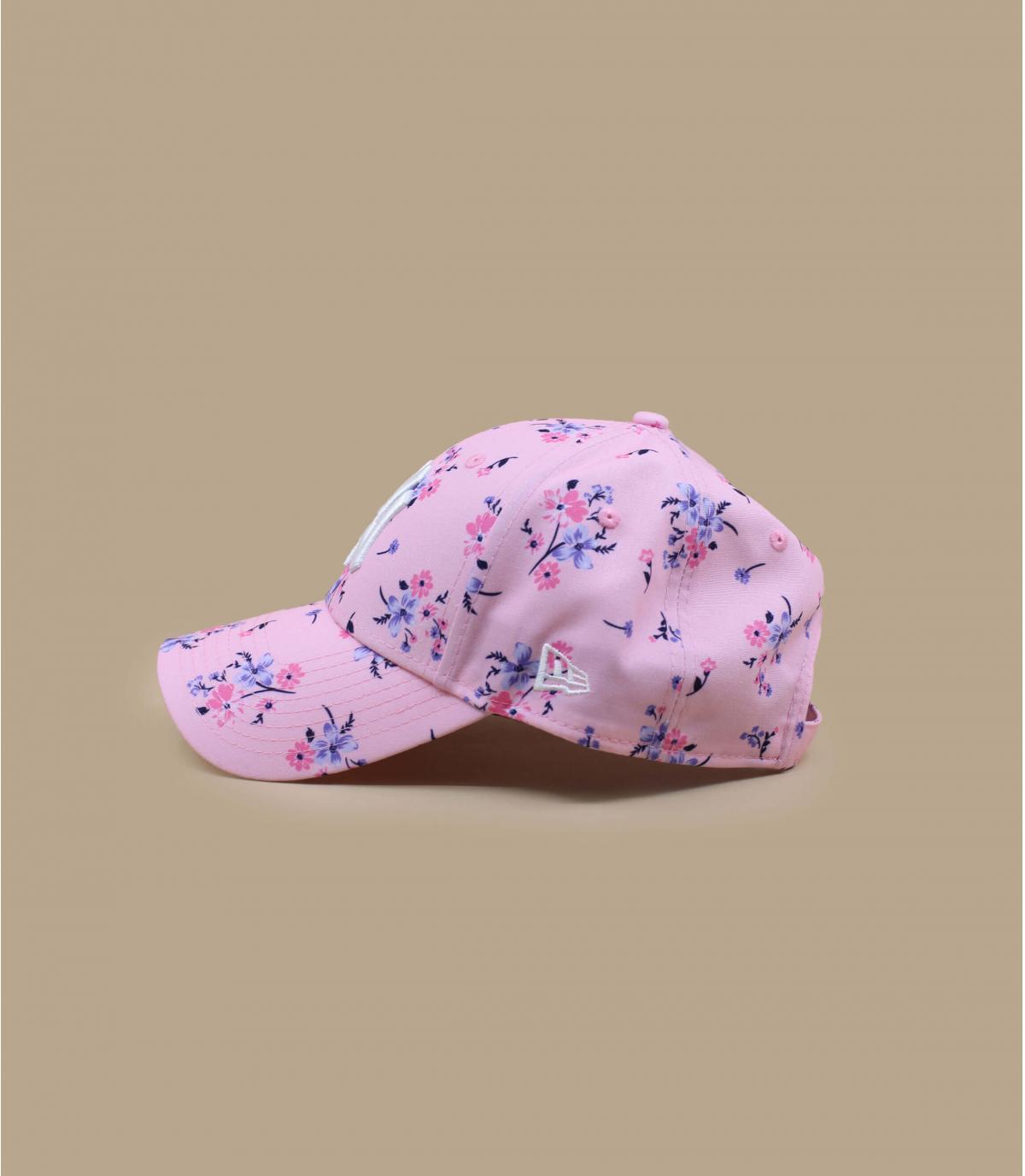 Details Cap Wmn Floral NY 940 pink - Abbildung 3