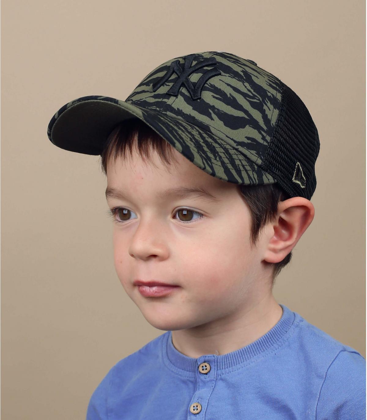 Kinder Trucker Cap grün NY