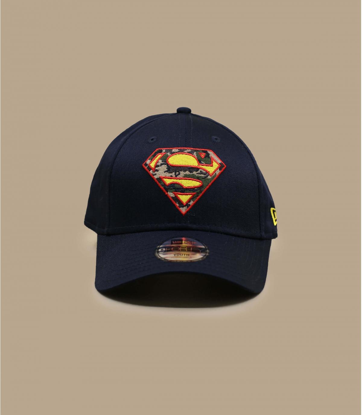 Details Cap Kids Superman Infiill 940 navy - Abbildung 2