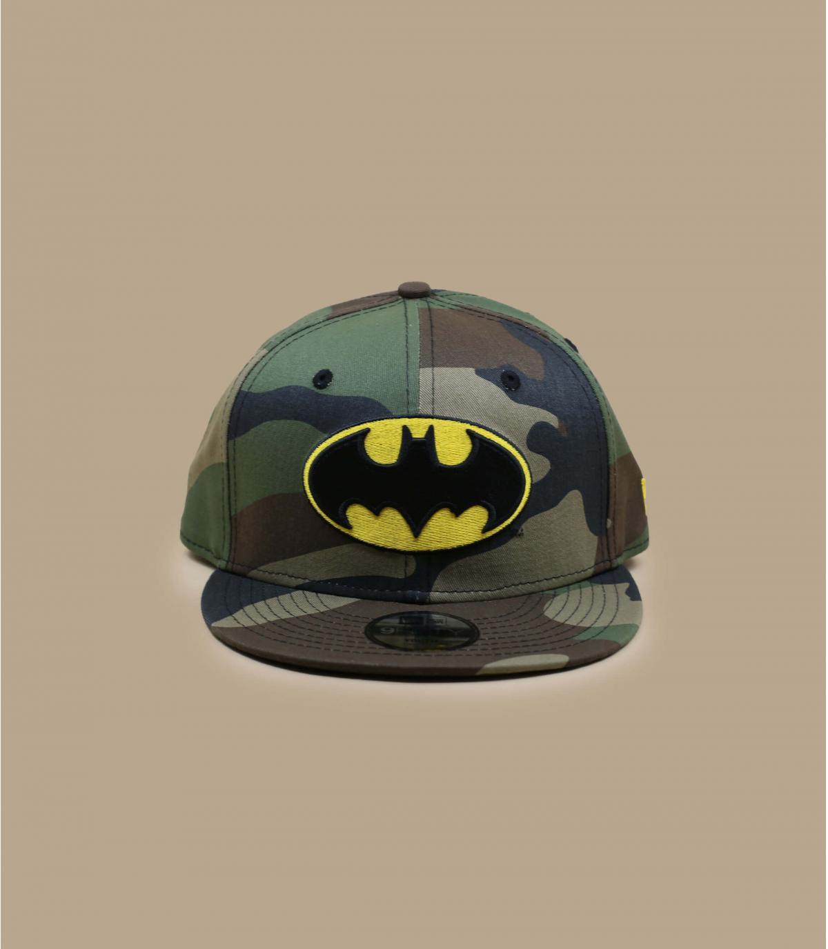 Kinder Snapback Batman camo