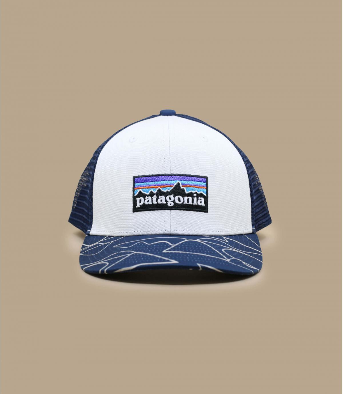 Kinder Trucker  Patagonia weiß blau