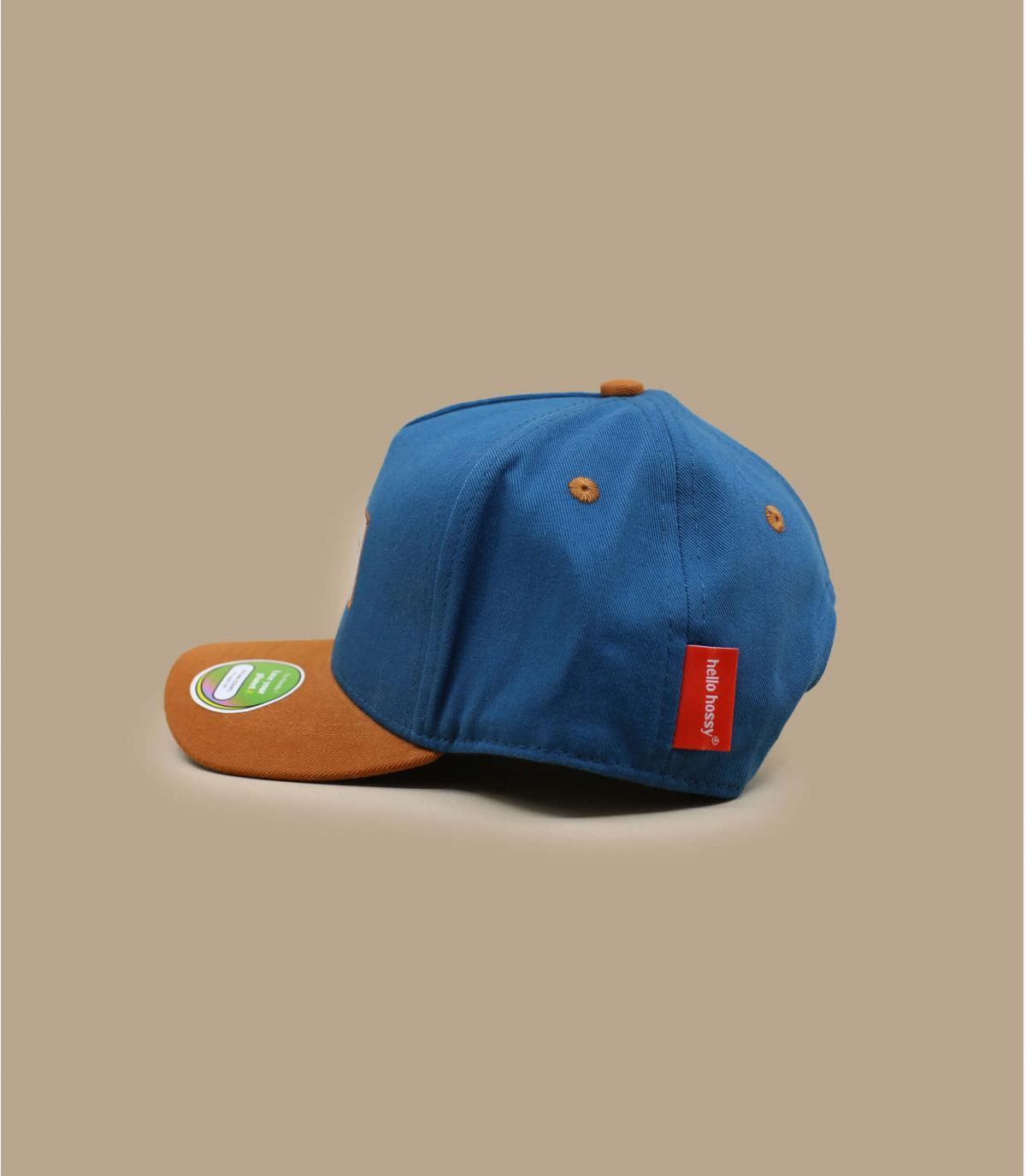Kinder Basecap blau
