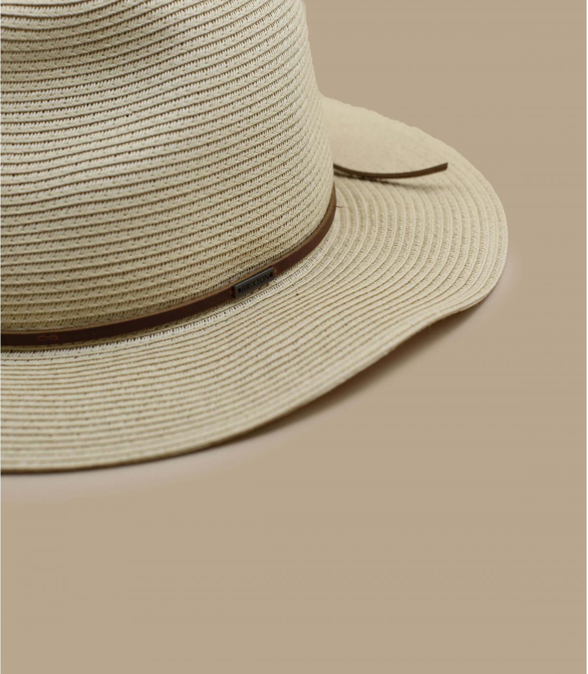 Details Wesley Straw Packable tan - Abbildung 3