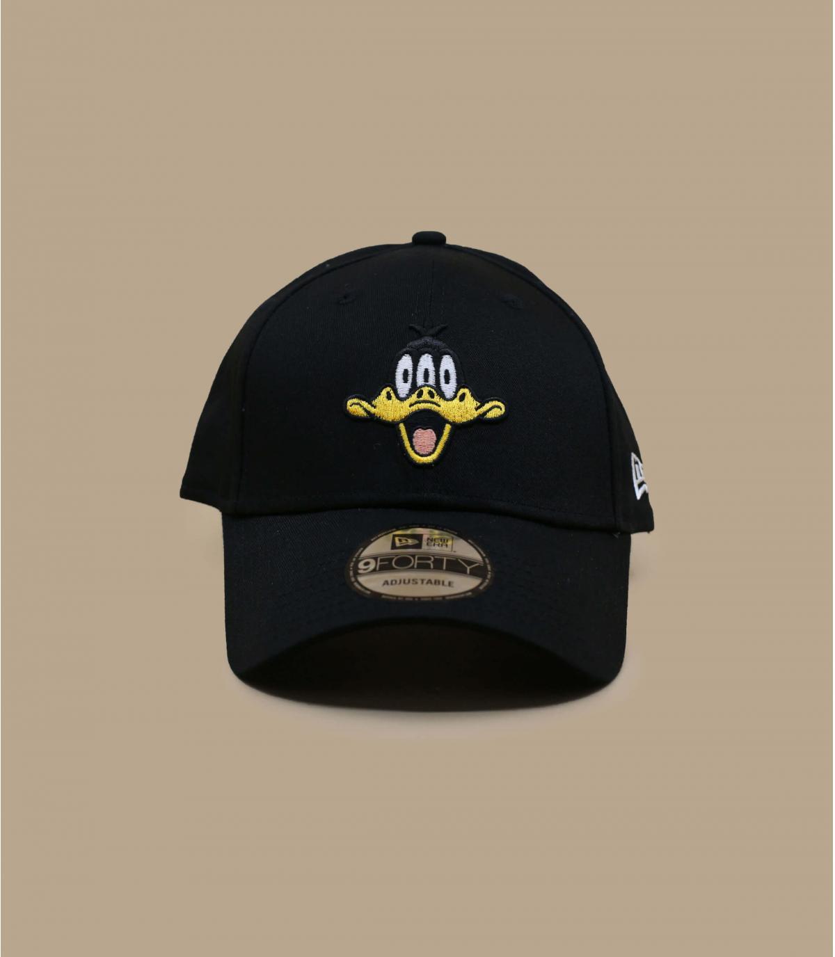 Cap schwarz Duck