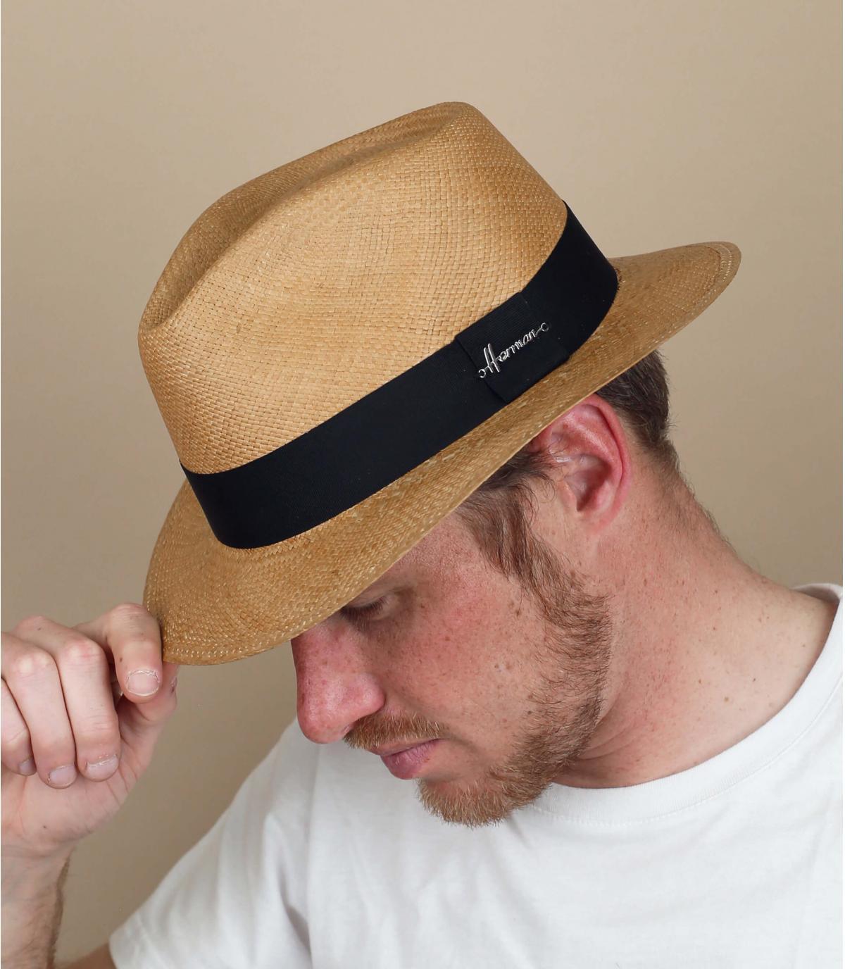 Panama Hut beige Herman