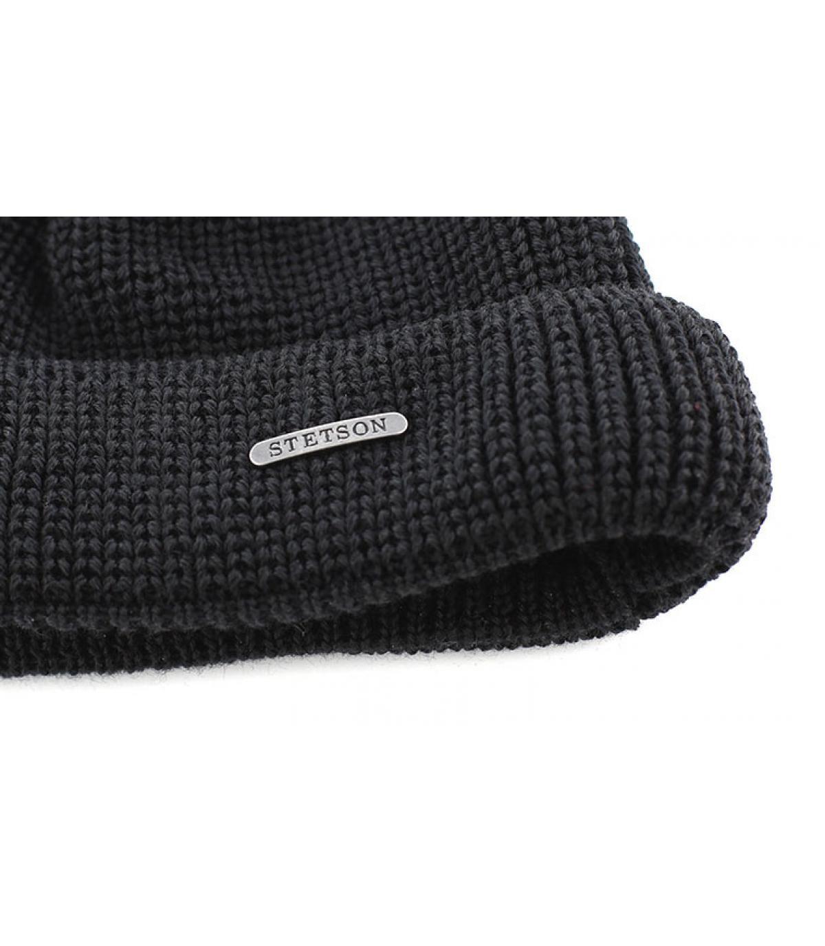 Stetson schwarze Mütze