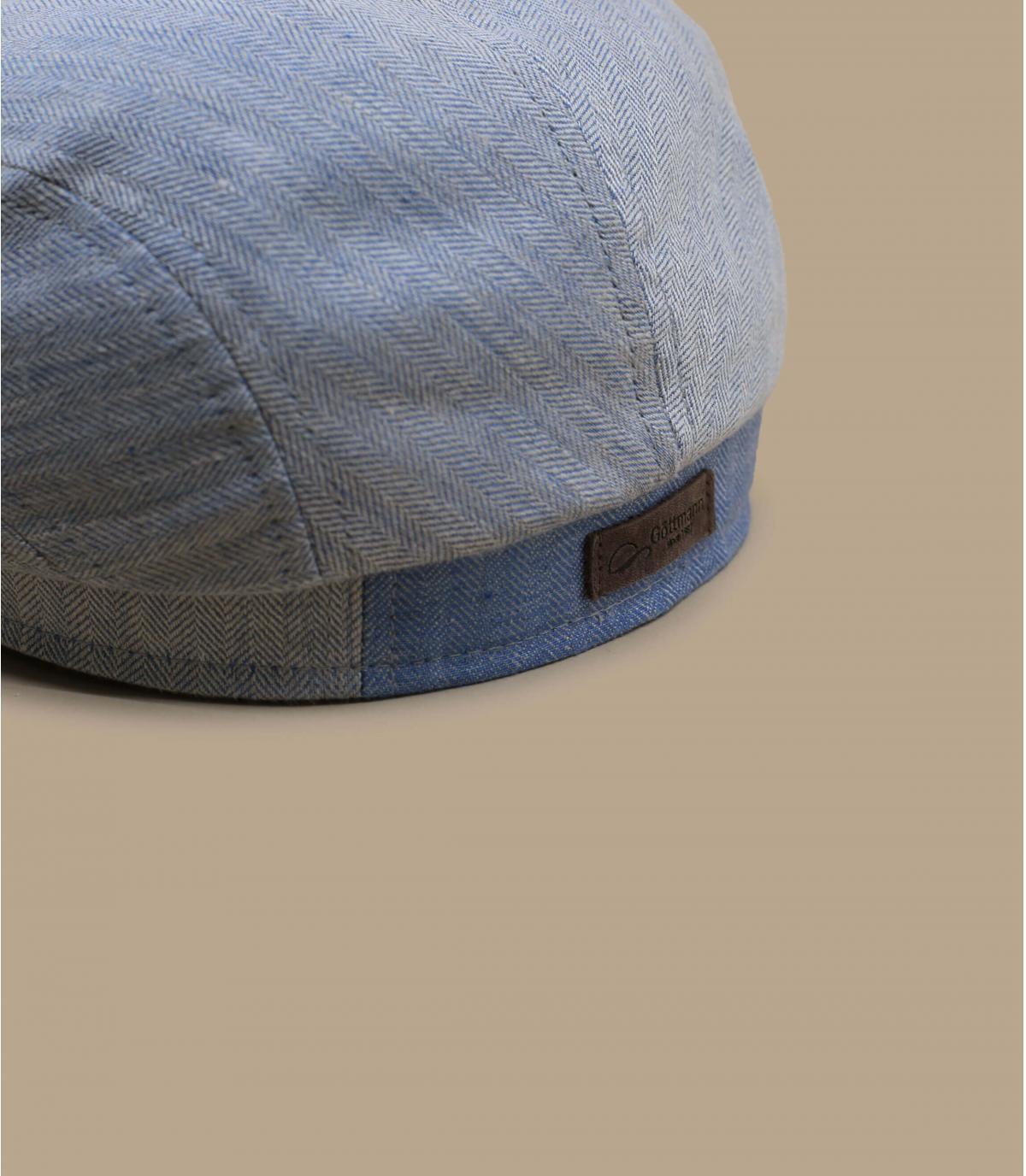 Details Belvedere Linen  blue - Abbildung 2