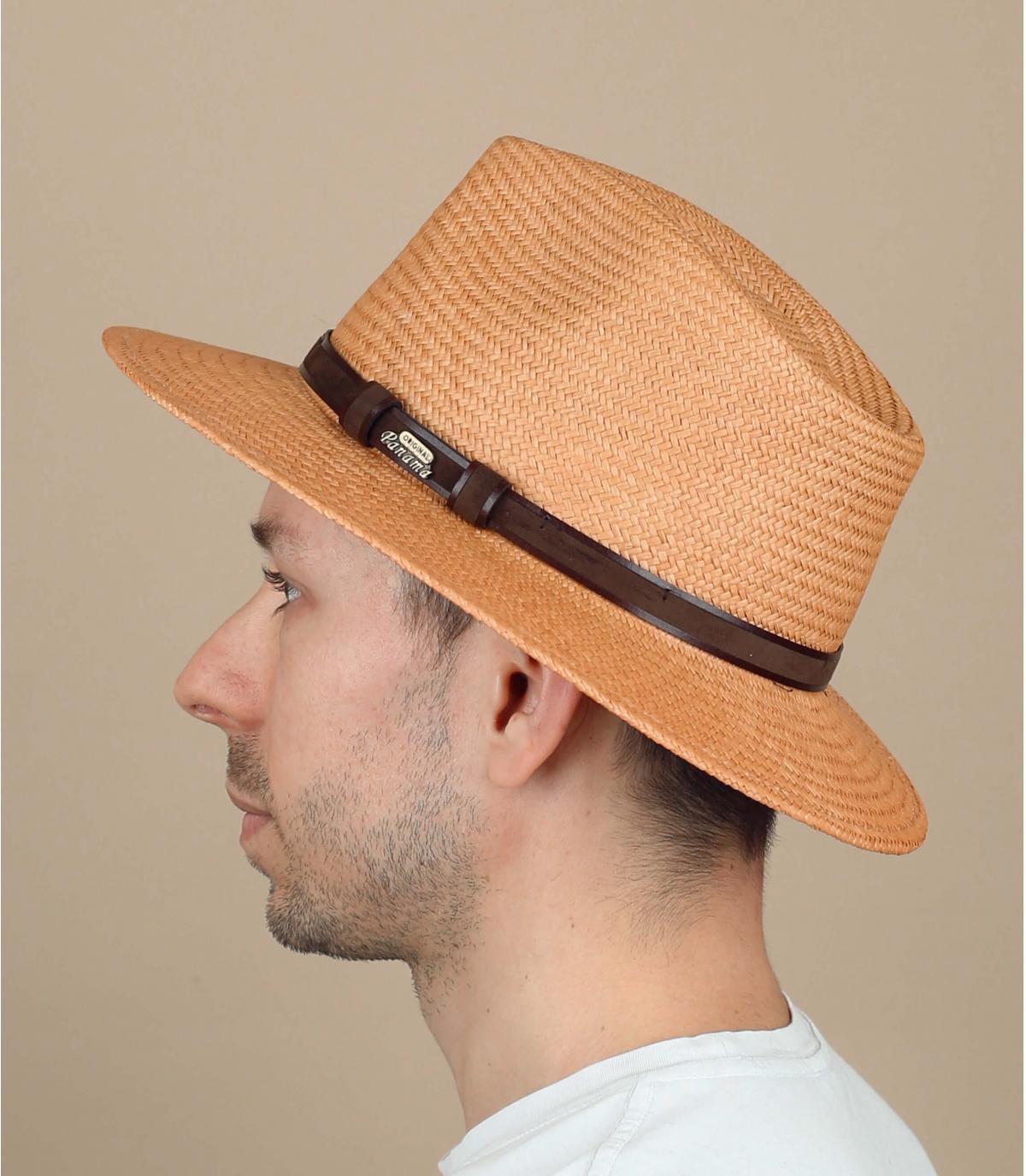 Panama Hut beige