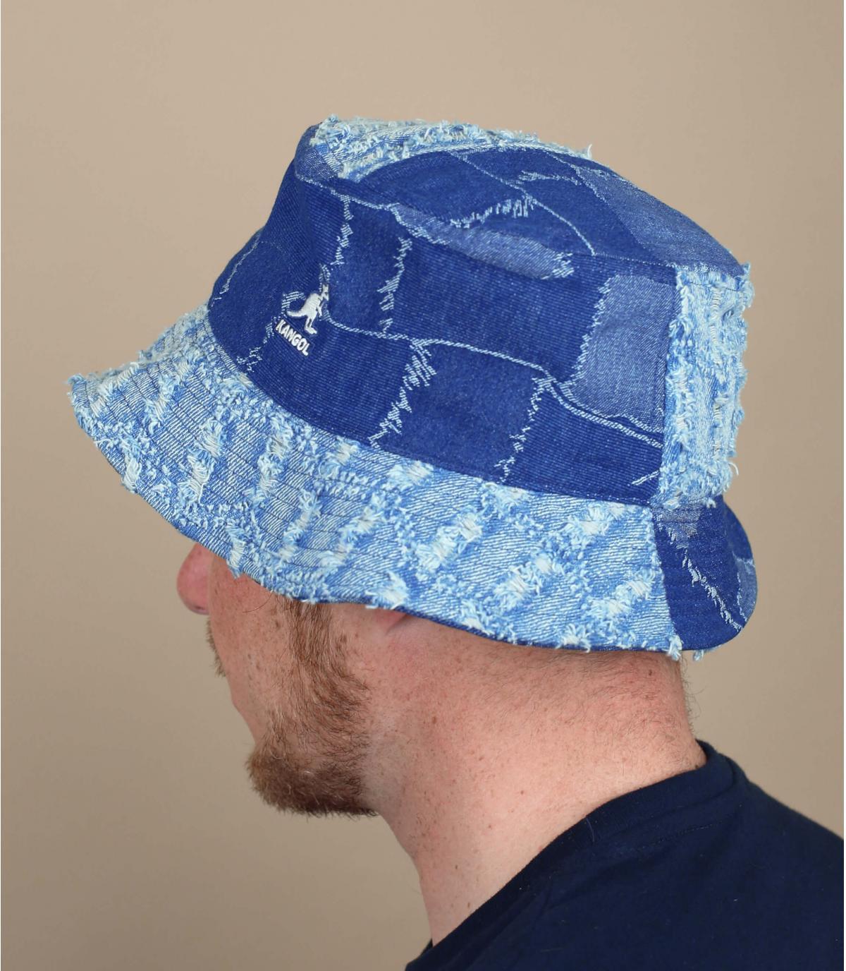 Bucket Hat Kangol Denim Patchwork
