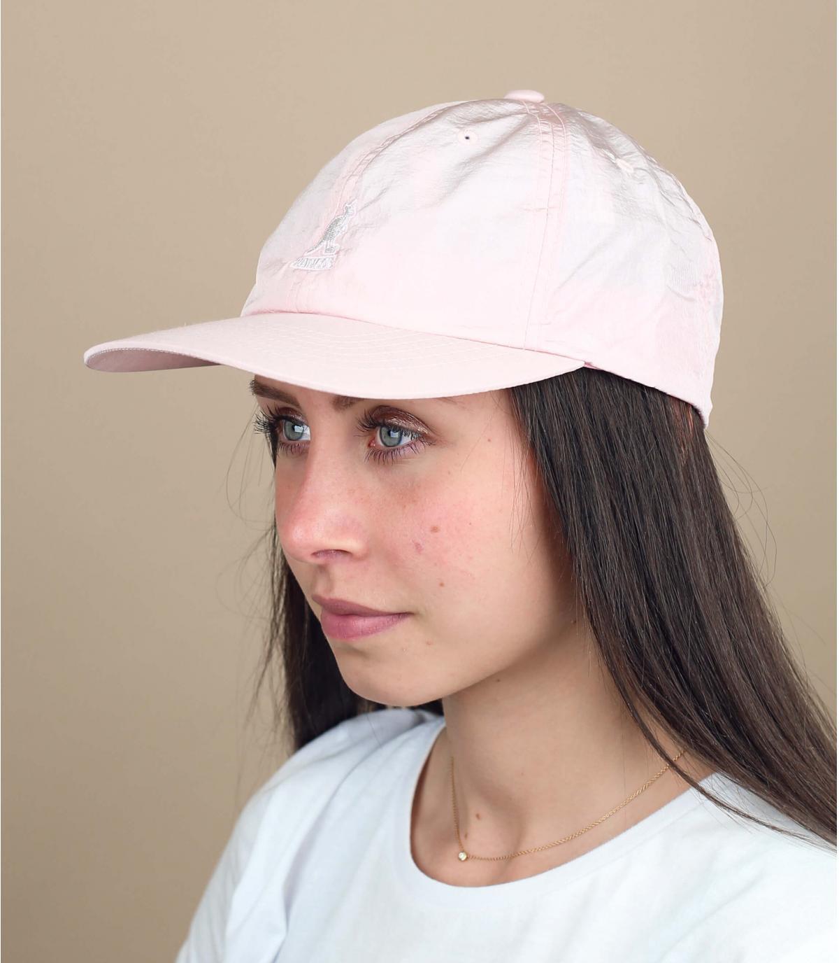 Cap wasserabweisend rosa Kangol