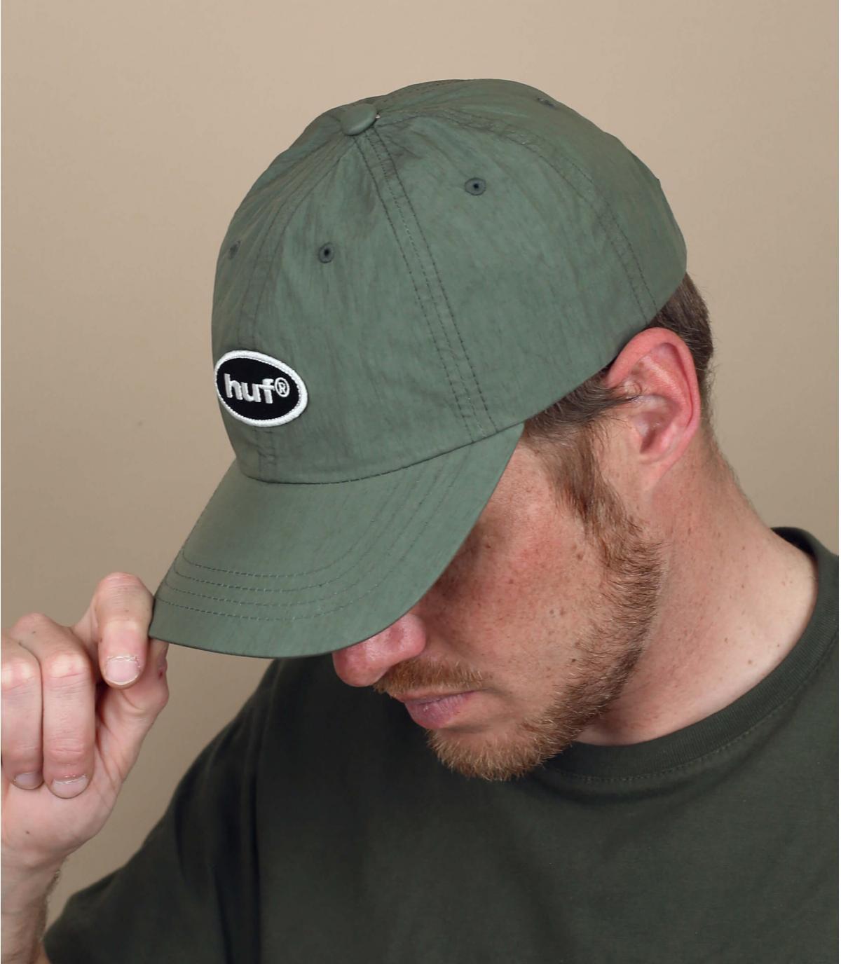 Cap Huf grün
