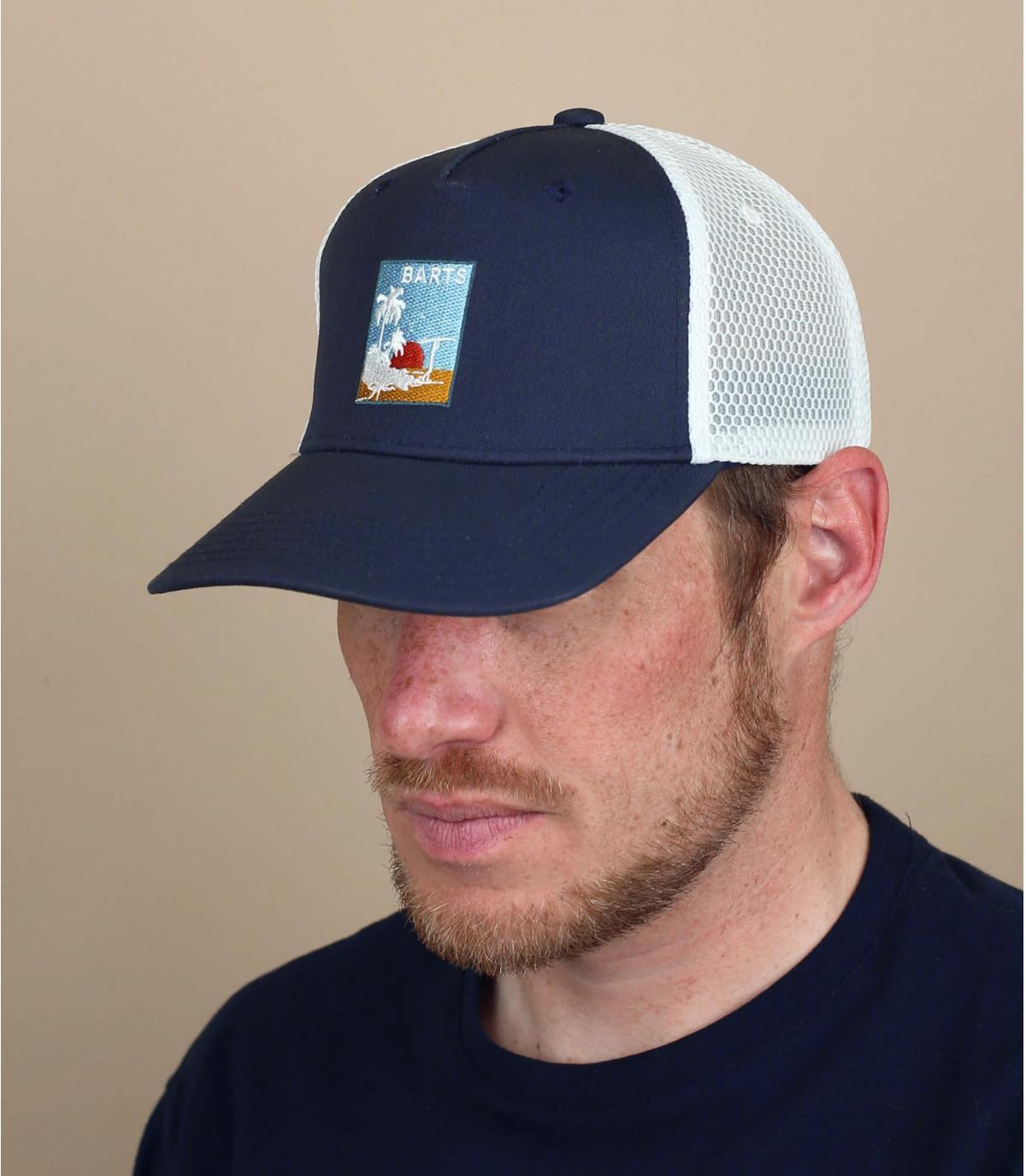Trucker Cap blau Patch Barts