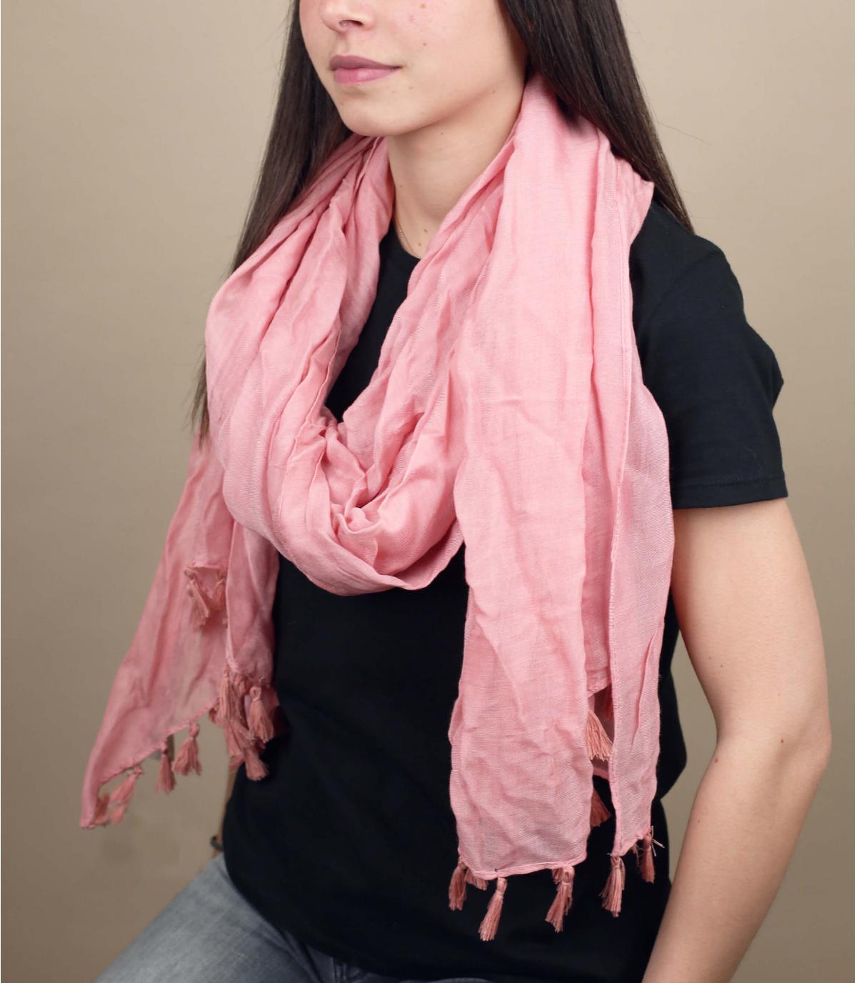 Halstuch rosa Viskose
