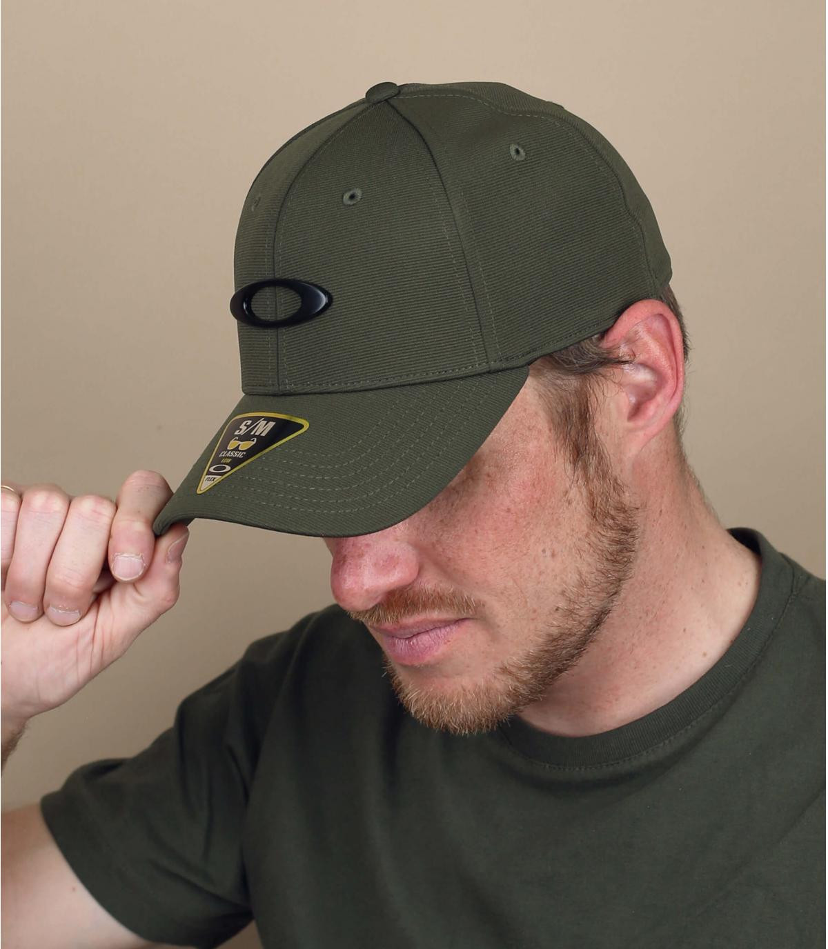 Cap  Oakley grün