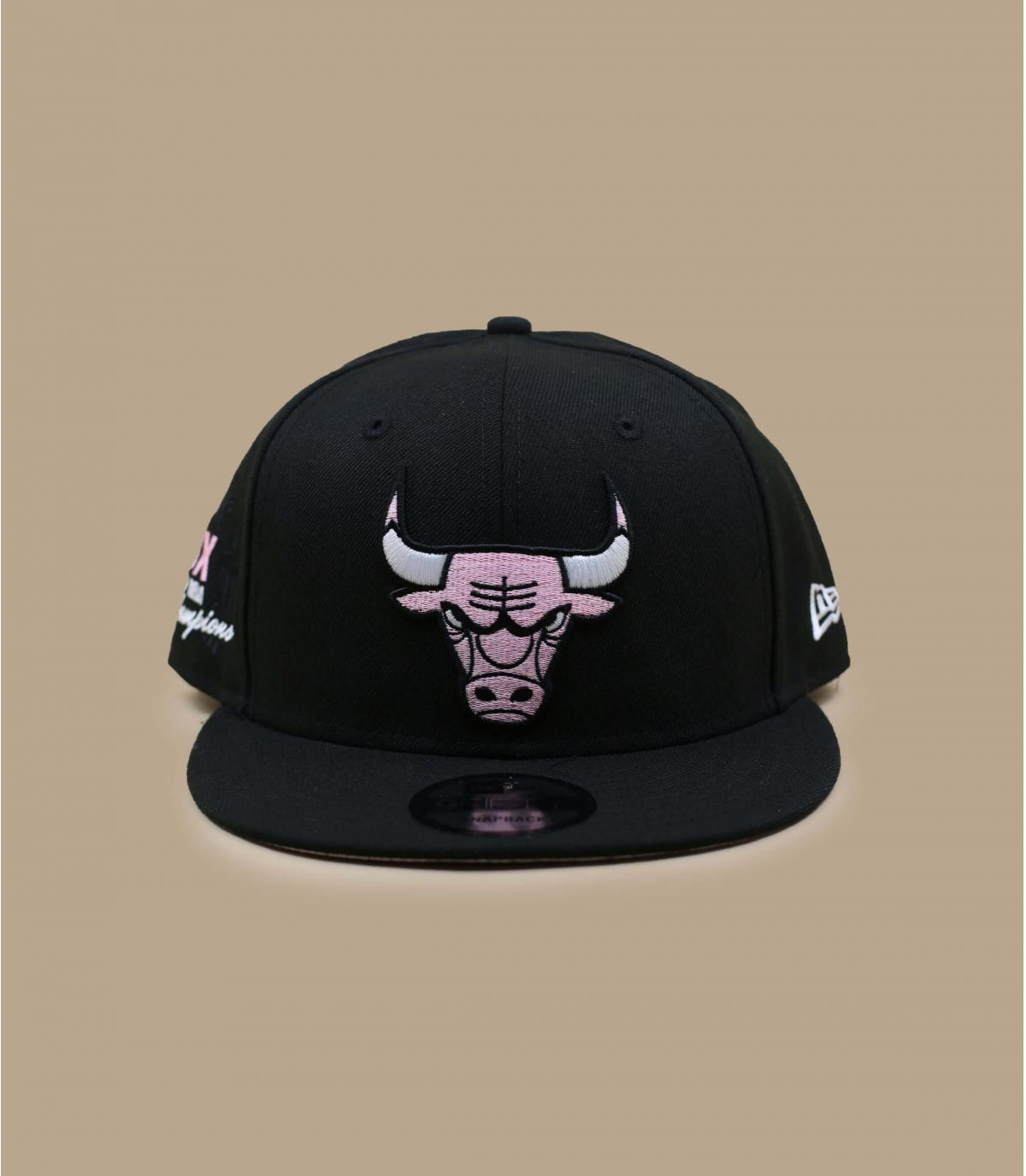 Cap Bulls Bandana rosa
