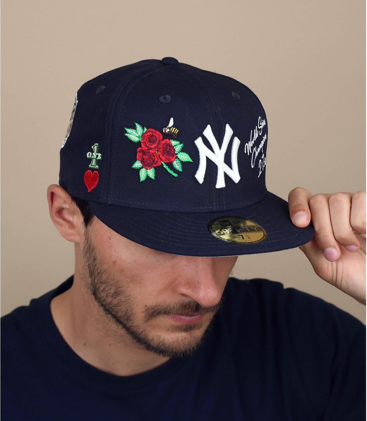 Cap NY Patchs