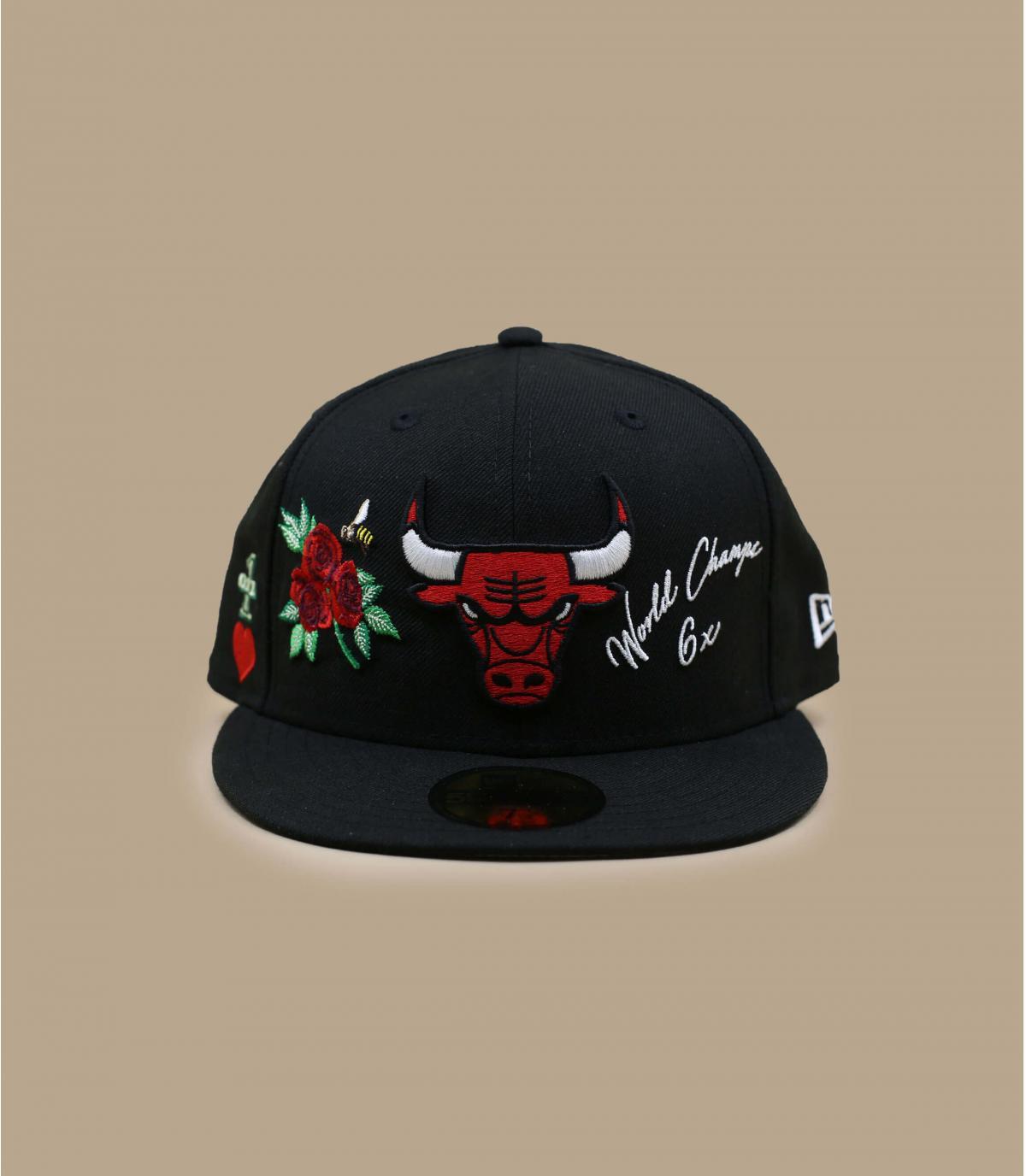 Cap Bulls Patchs