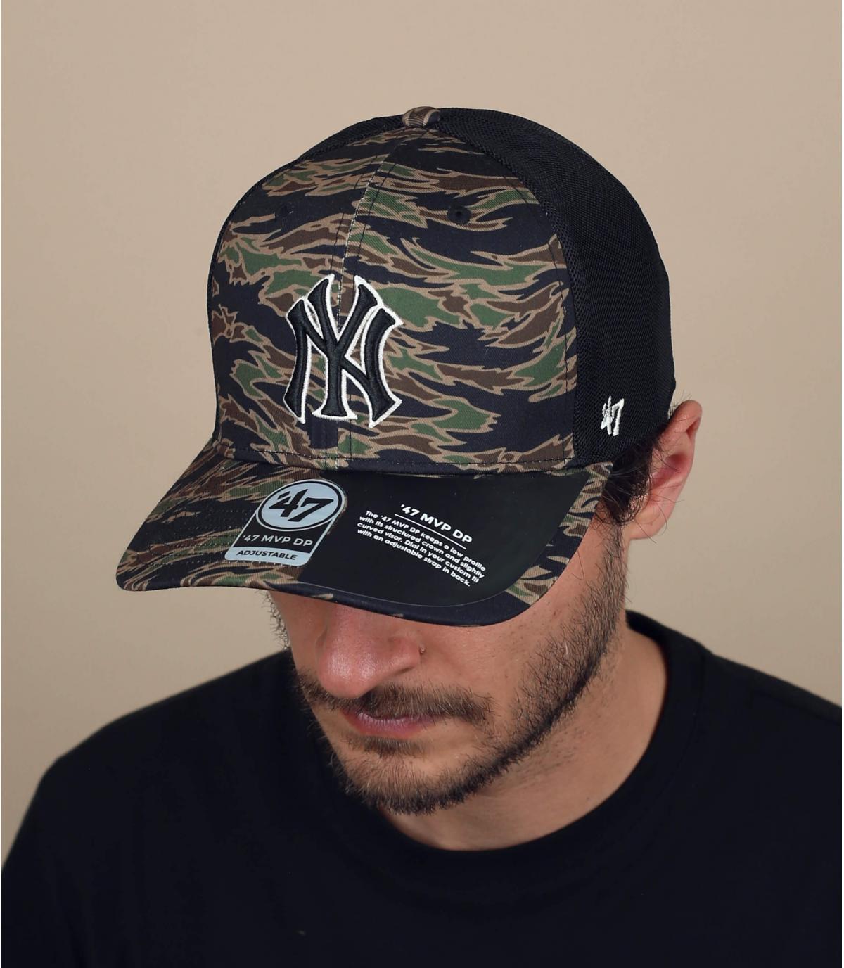 Trucker Cap NY camo