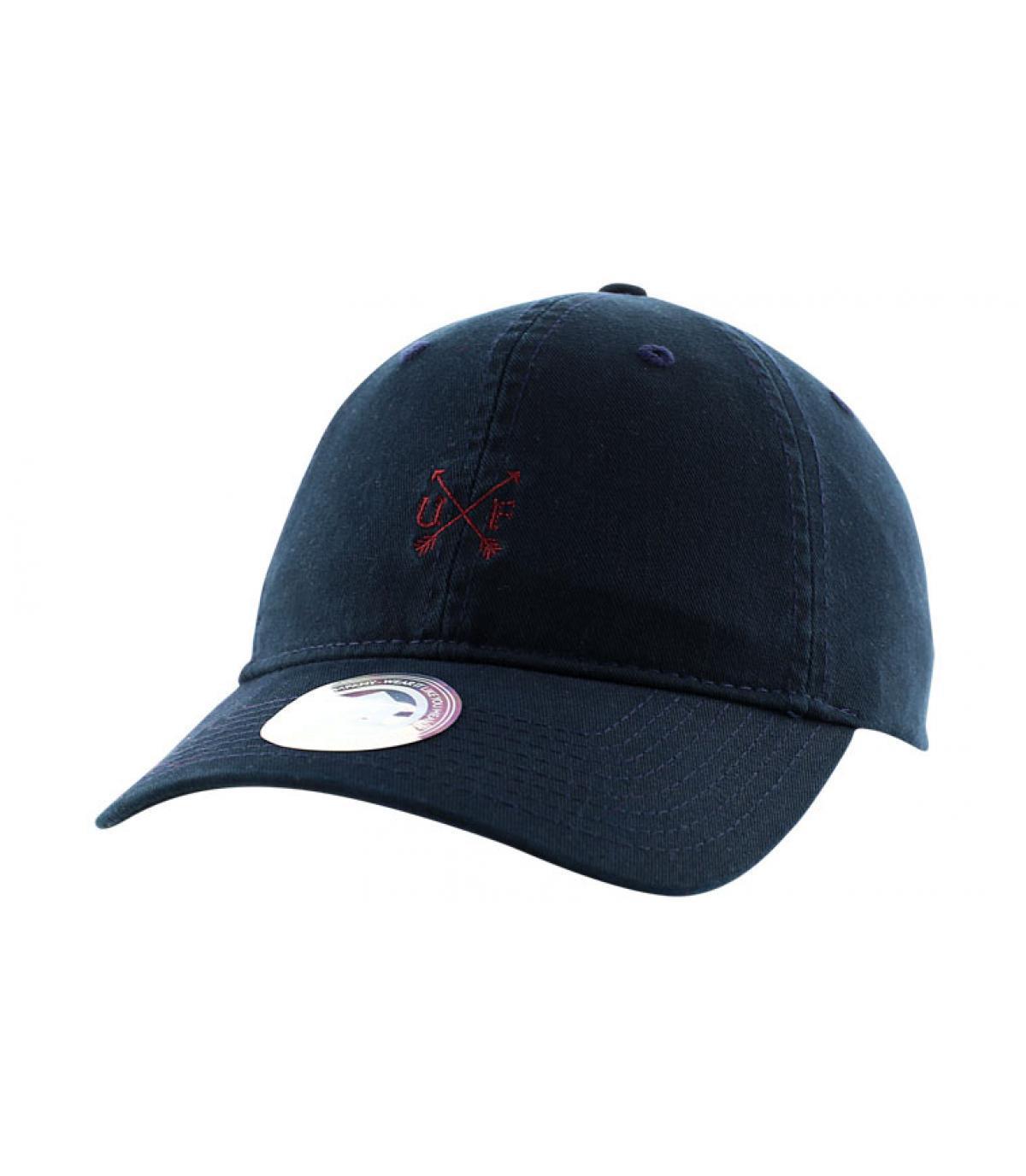 Marineblaue Trucker Cap