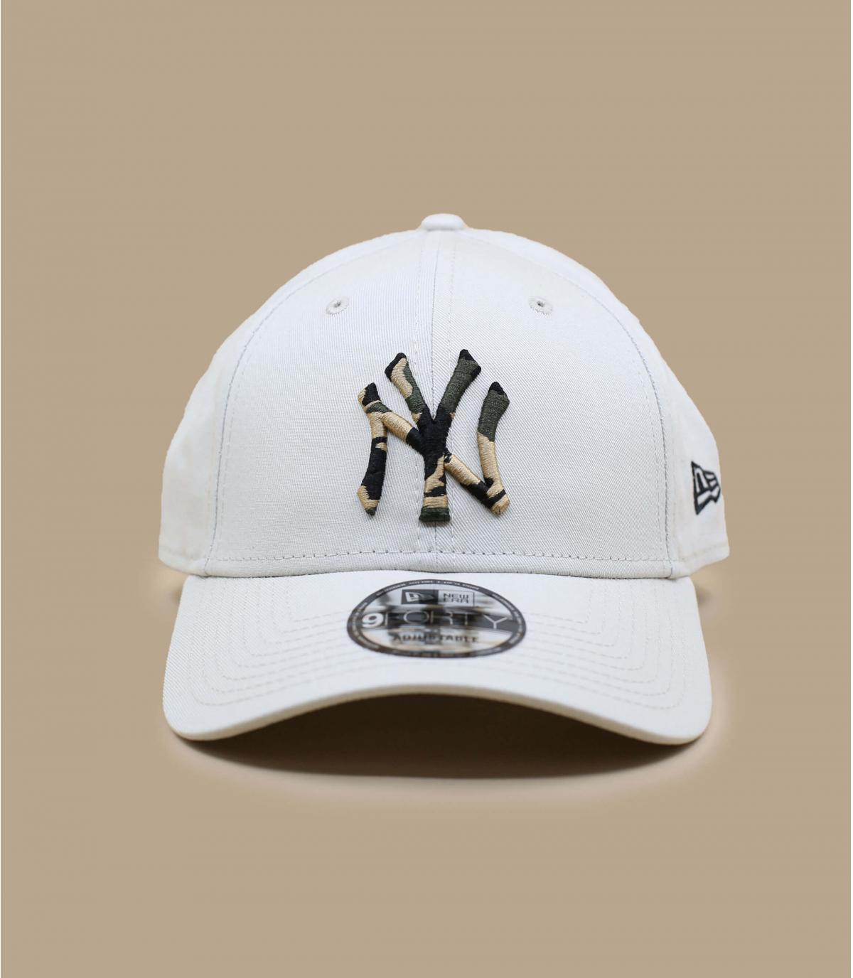 Cap NY beige